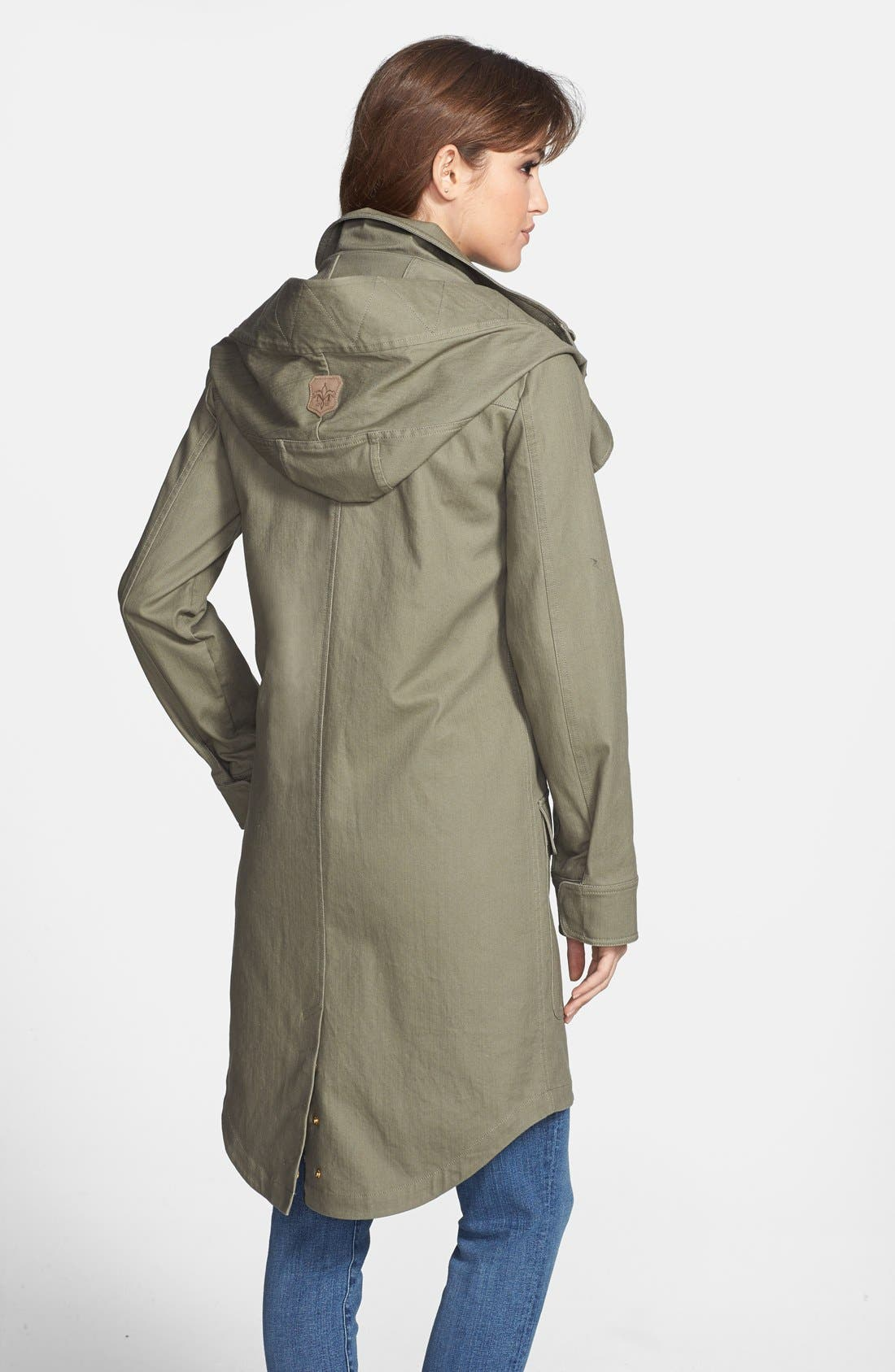 Alternate Image 2  - Mackage Canvas Utility Coat with Removable Liner