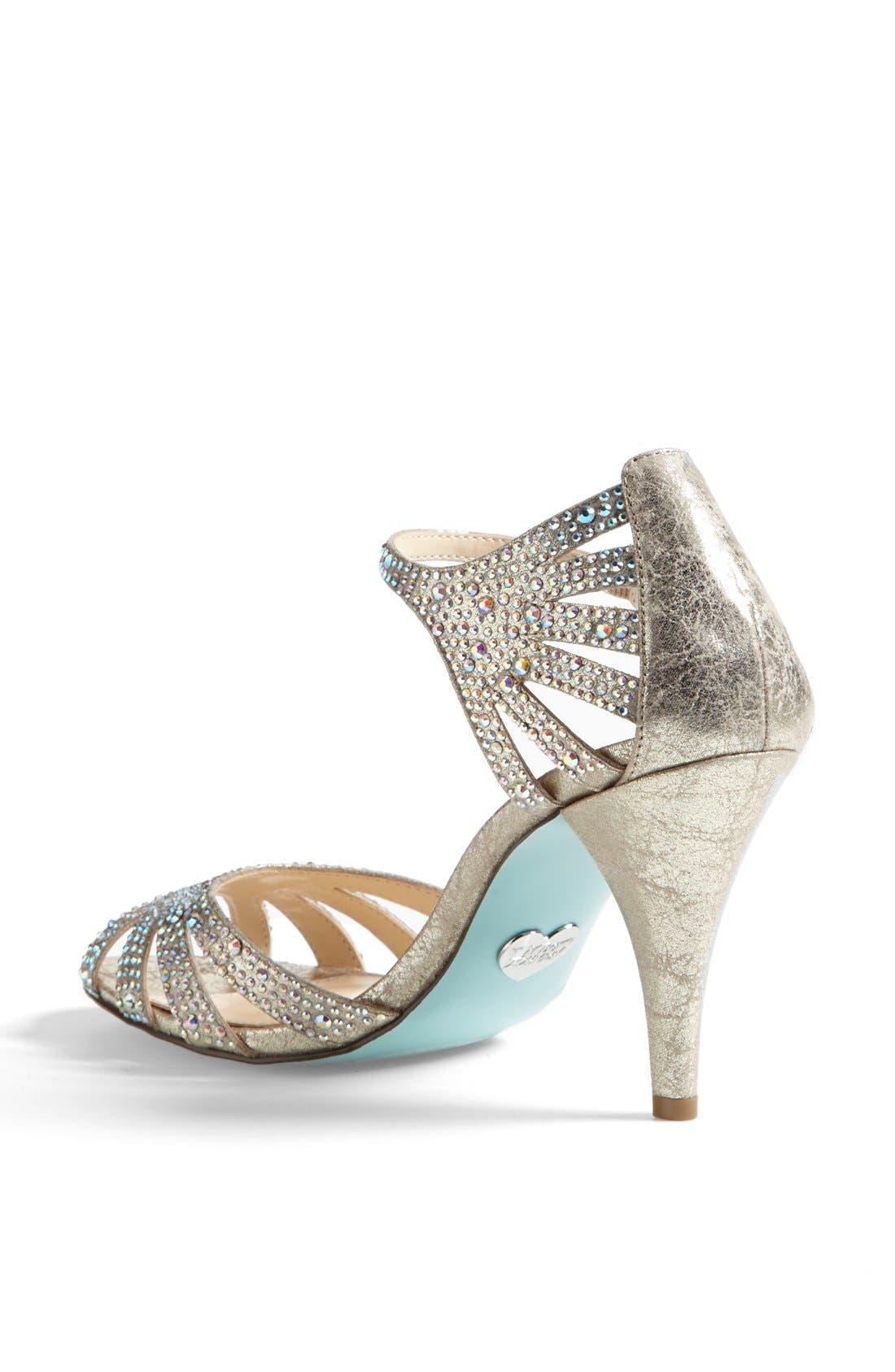 Alternate Image 2  - Betsey Johnson 'Sweet' Sandal