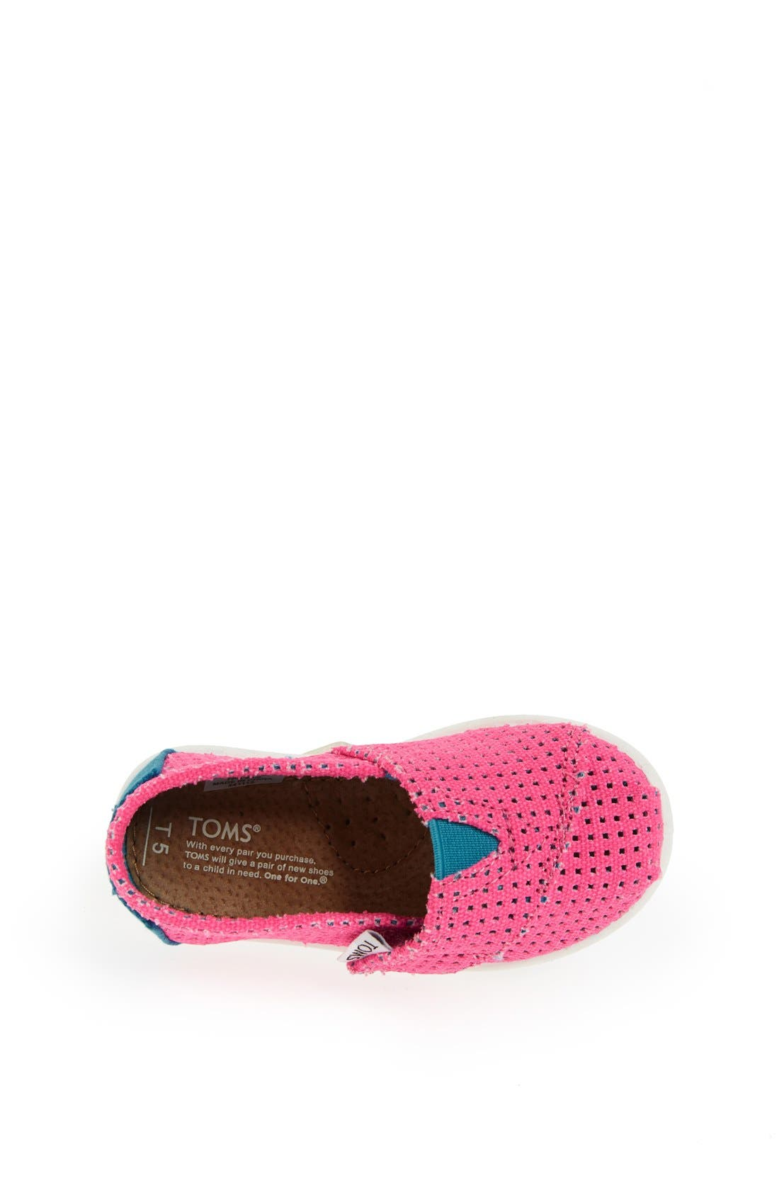Alternate Image 3  - TOMS 'Classic Tiny - Freetown' Two-Tone Slip-On (Baby, Walker & Toddler)