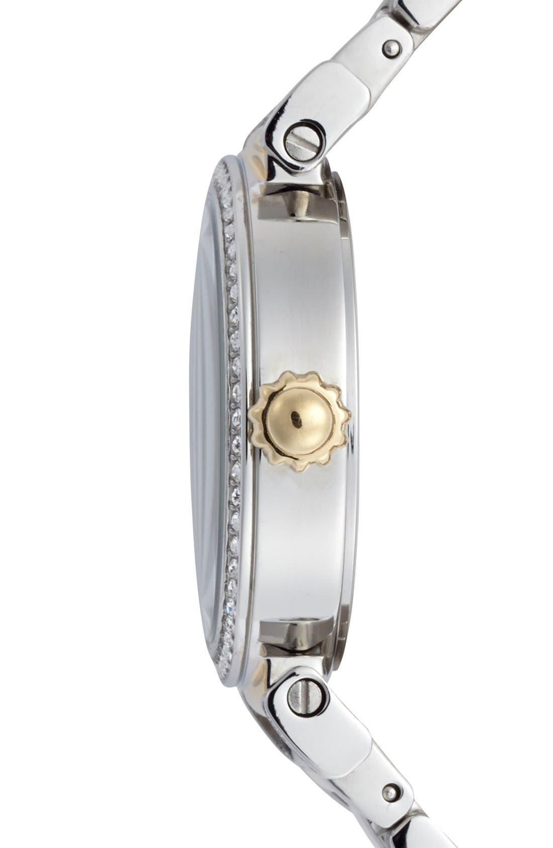 Alternate Image 3  - COACH 'Madison' Round Crystal Bezel Bracelet Watch, 32mm