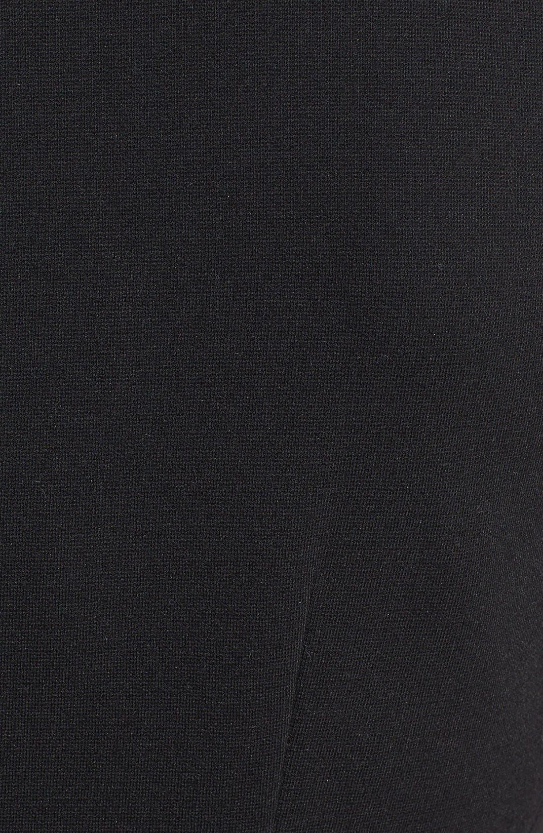 Alternate Image 3  - Classiques Entier® Shaped Shoulder Ponte Dress