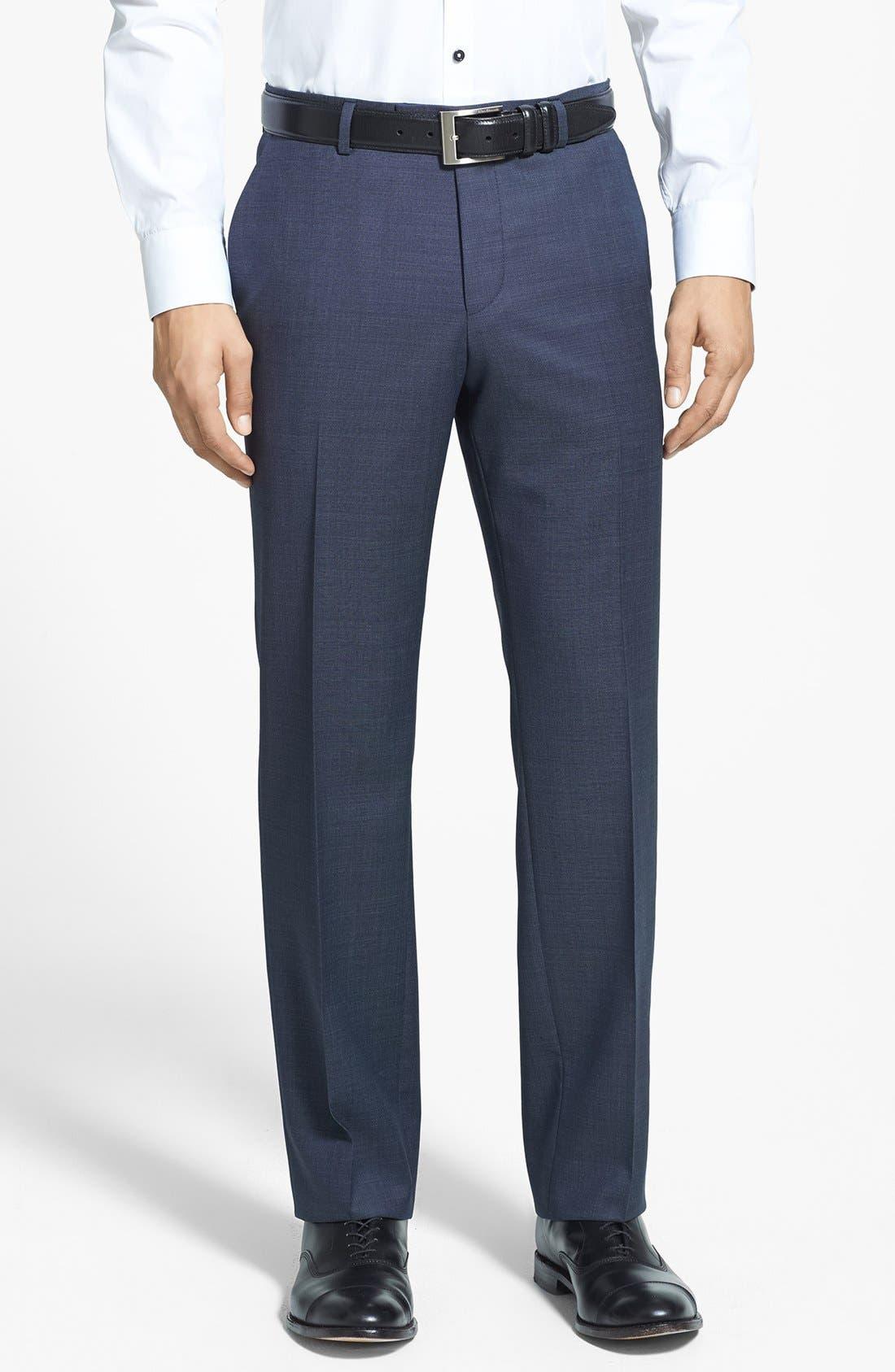 Alternate Image 4  - BOSS HUGO BOSS 'James/Sharp' Trim Fit Wool Suit
