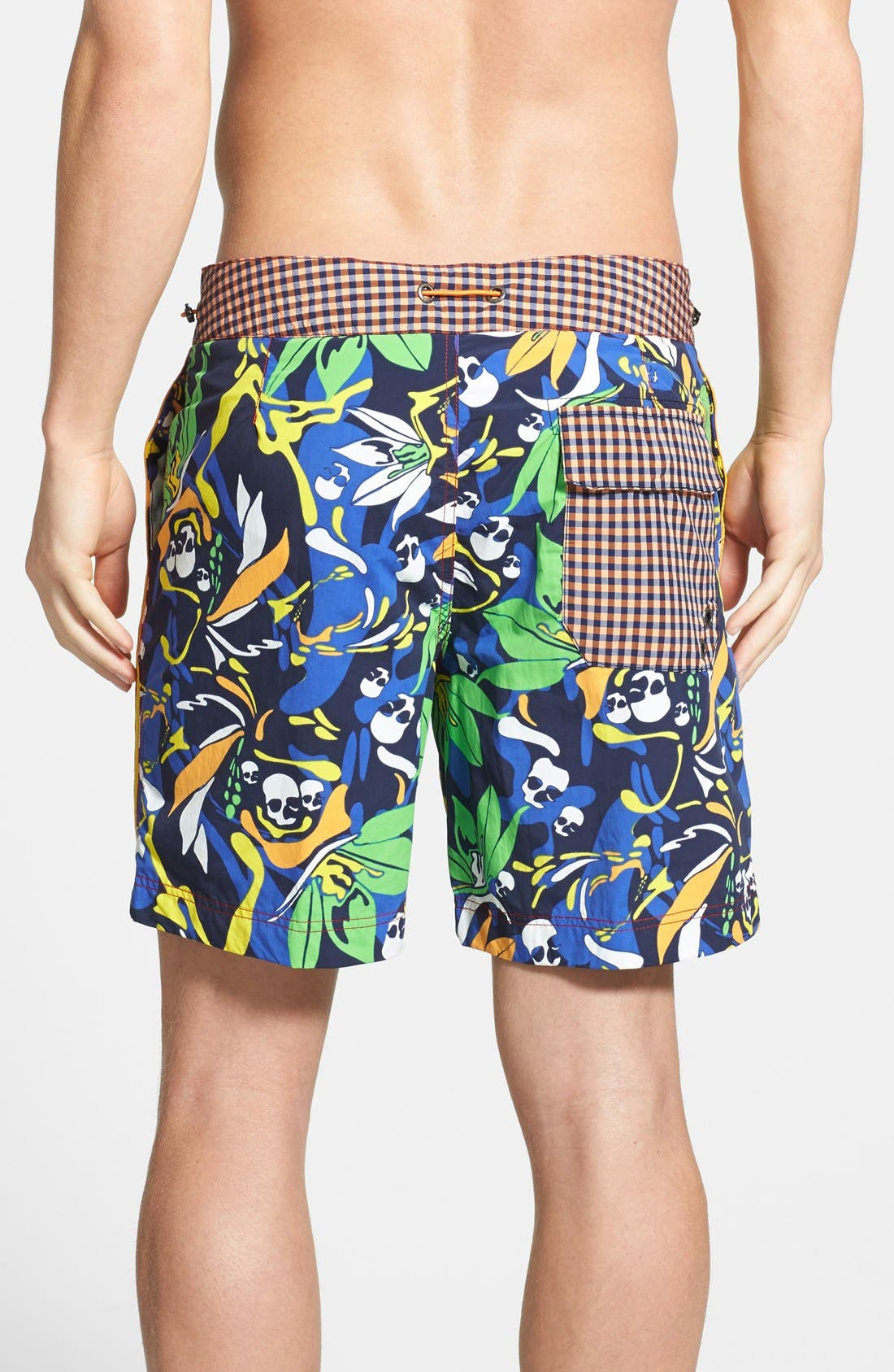 Alternate Image 2  - Robert Graham 'Alphyn' Regular Fit Swim Trunks