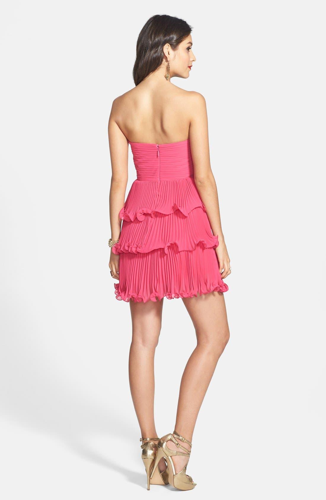 Alternate Image 2  - ERIN erin fetherston 'Sweet Pea' Chiffon Dress