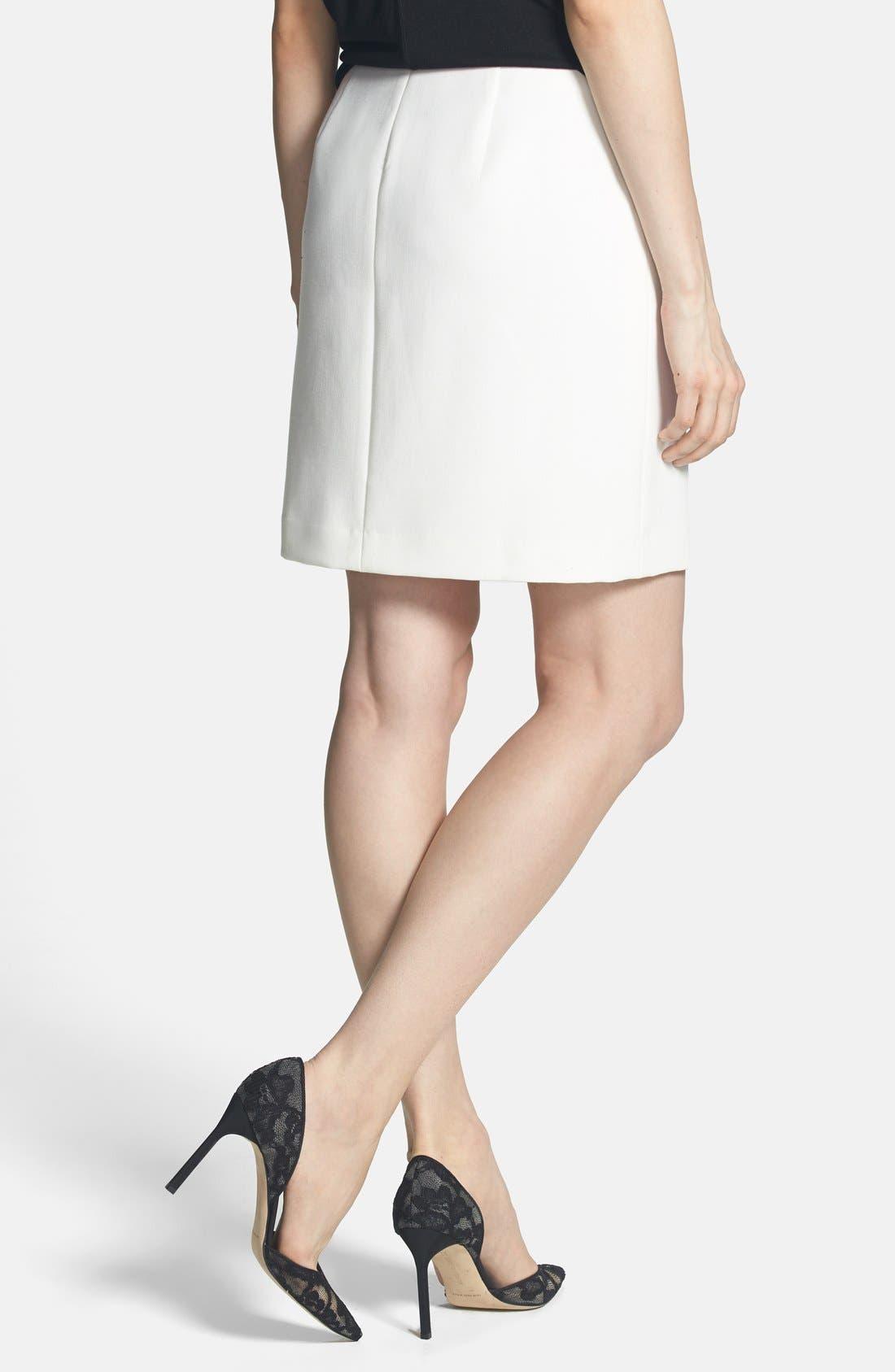 Alternate Image 2  - Trouvé Zip Detail Pencil Skirt