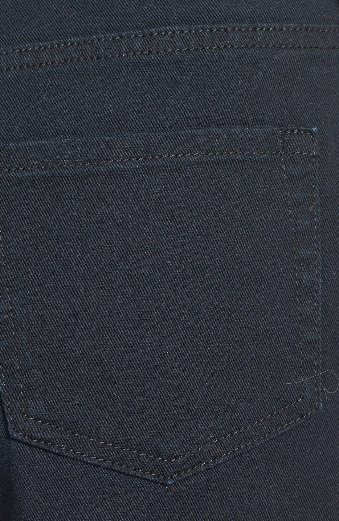 Alternate Image 3  - BP. High Waist Denim Cutoff Shorts (Juniors)