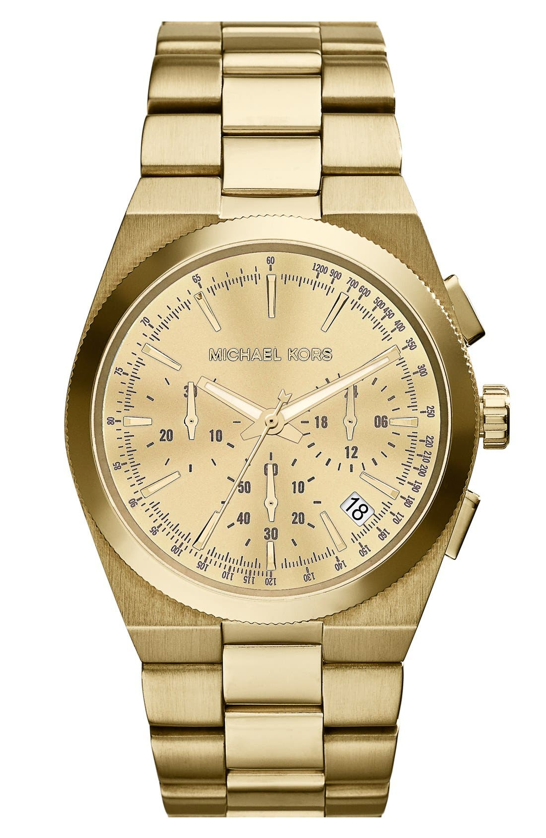 Alternate Image 1 Selected - Michael Kors 'Channing' Chronograph Bracelet Watch, 38mm (Nordstrom Exclusive)
