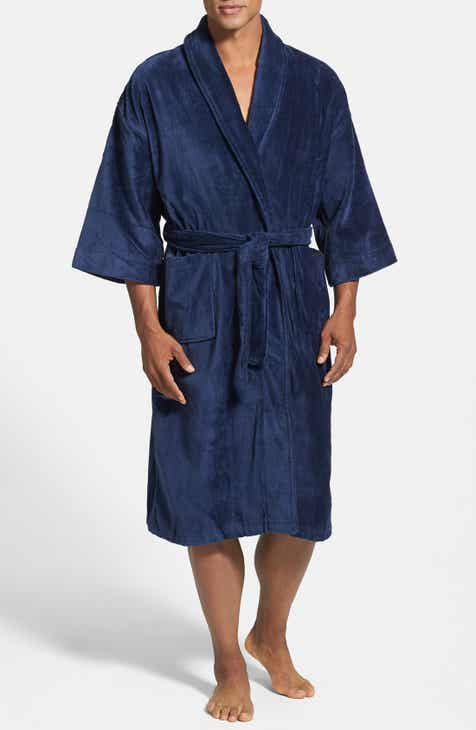 cb24436aacb Majestic International Terry Velour Robe