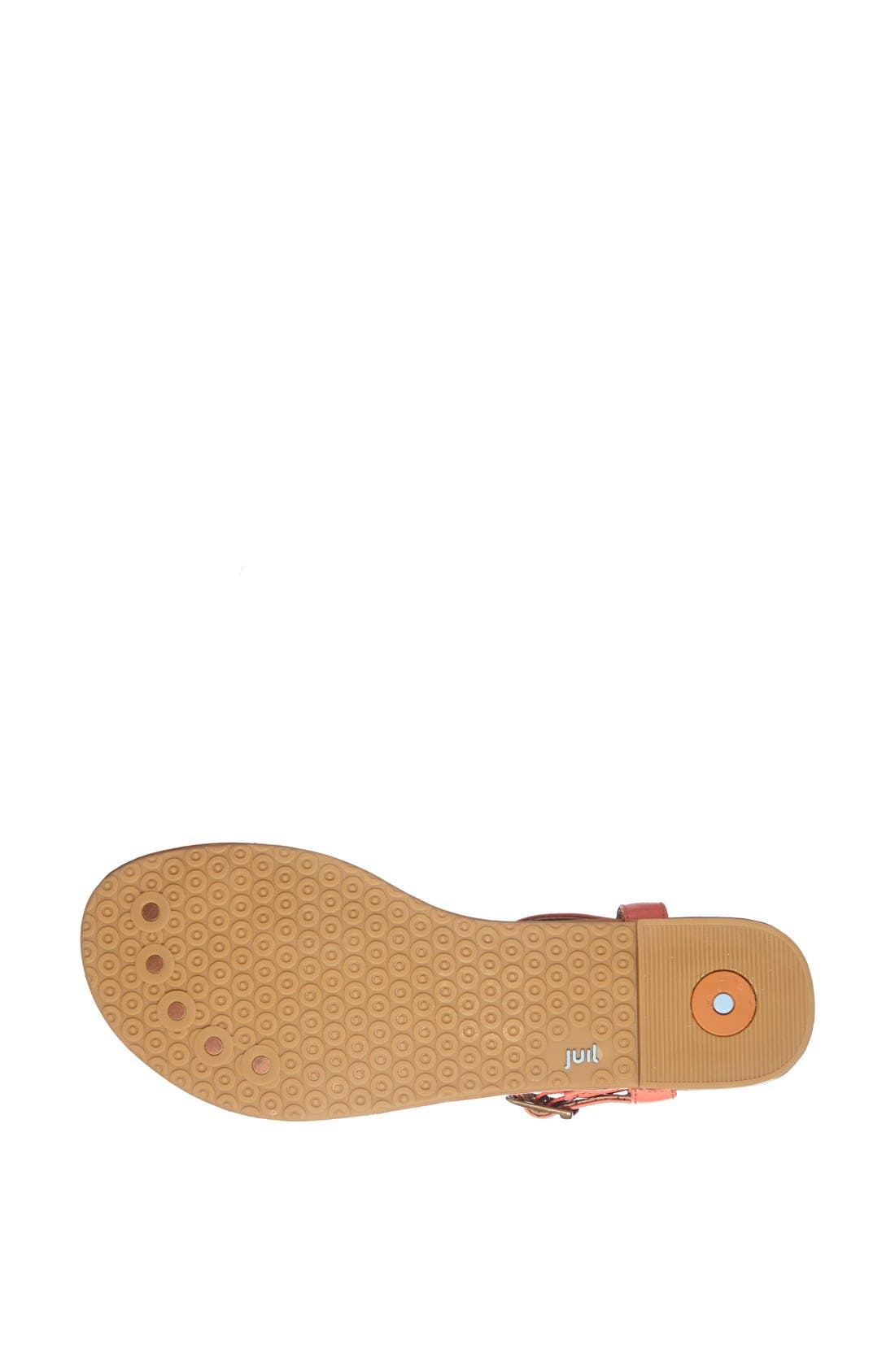 Alternate Image 4  - Juil 'Kava' Grounded Leather Sandal
