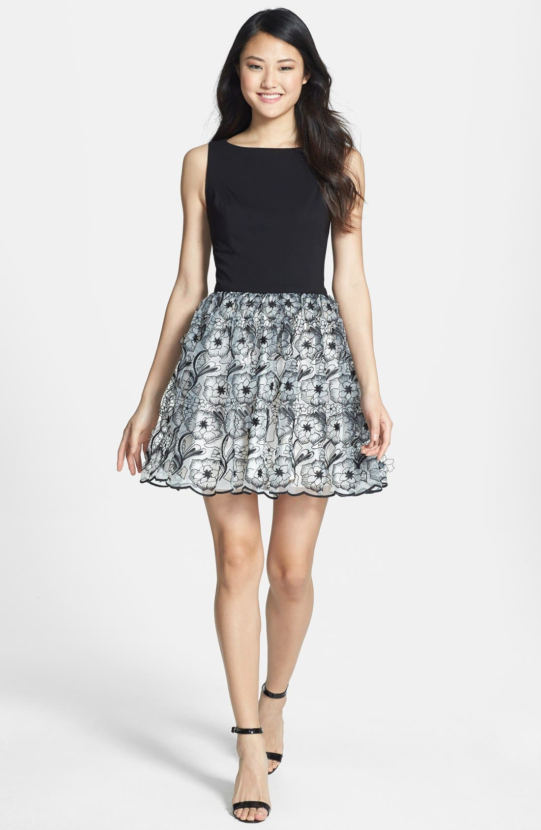 Alternate Image 2  - ERIN erin fetherston 'Peony 3D' Fit & Flare Dress
