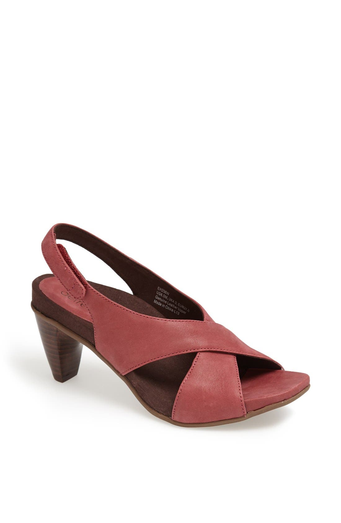 Alternate Image 1 Selected - Aetrex 'Courtney' Slingback Sandal