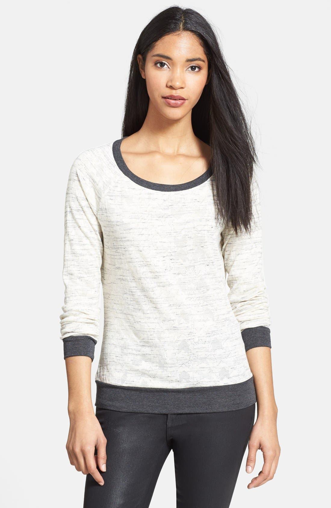 Main Image - Three Dots Pleat Back Sweater