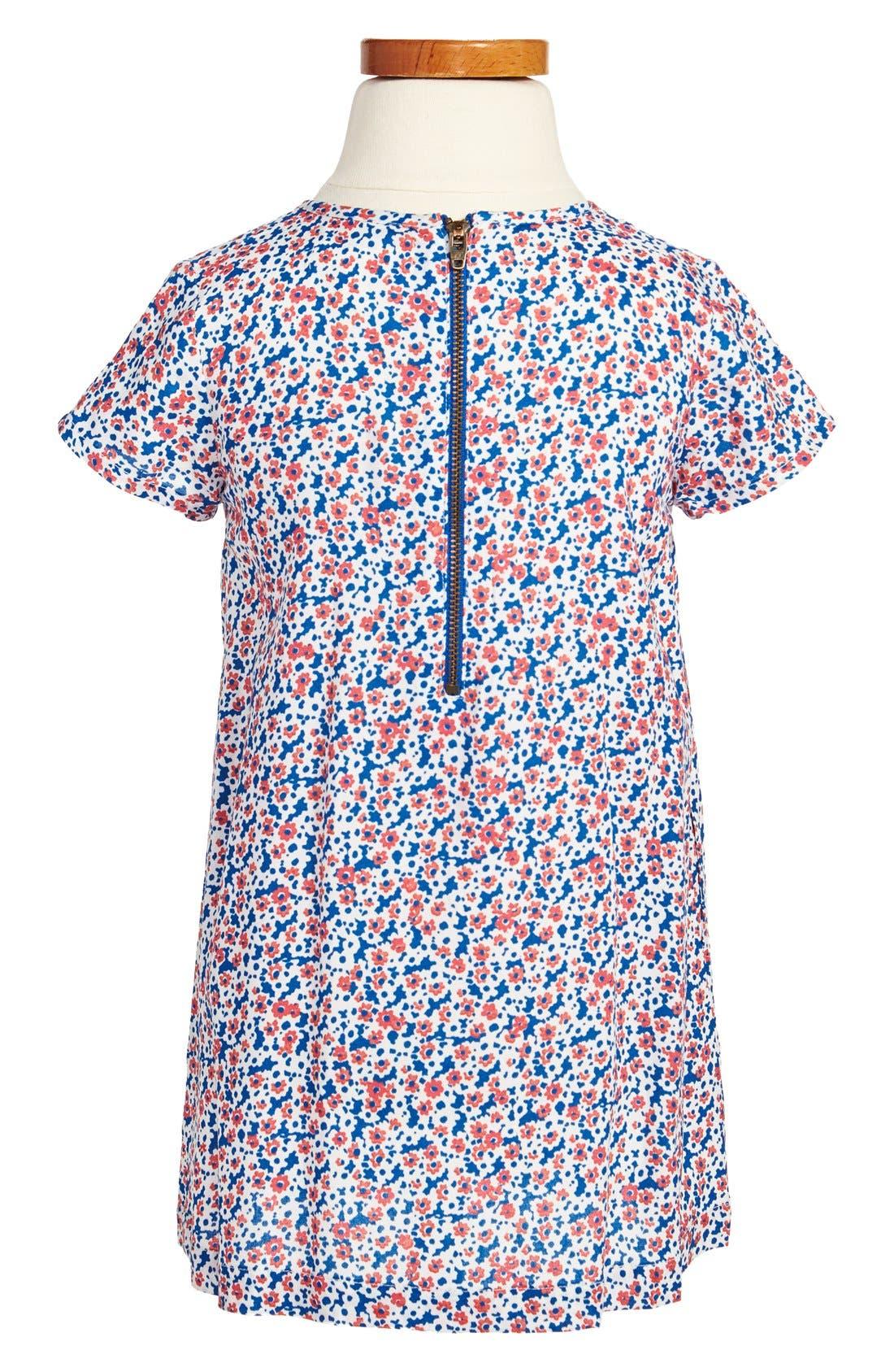Alternate Image 2  - Tucker + Tate 'Patricia' Pleated Print Dress (Little Girls & Big Girls)