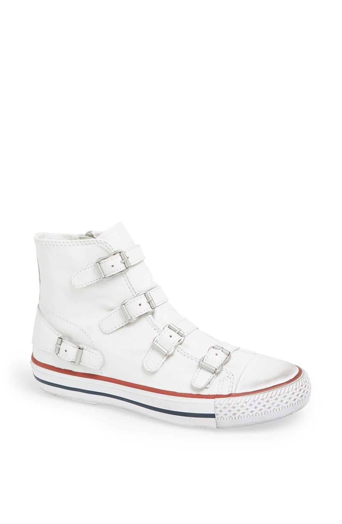 'Virgin' Sneaker,                             Main thumbnail 1, color,                             White