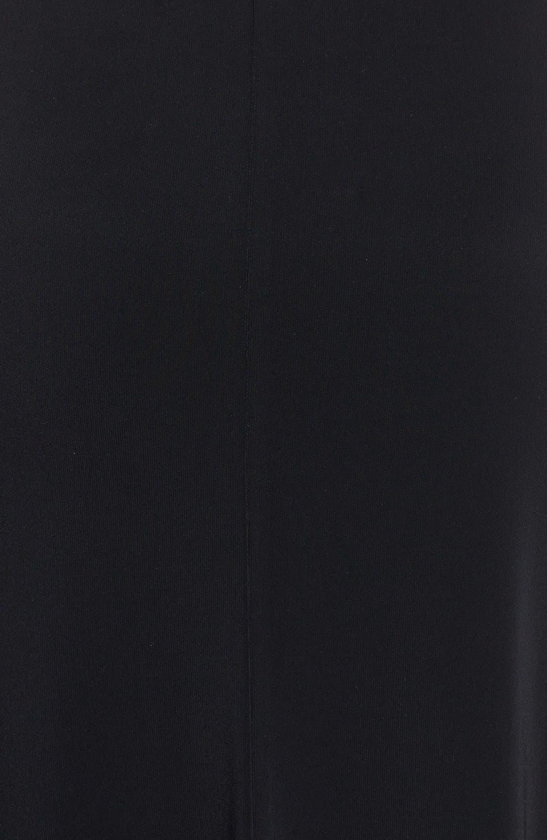 Alternate Image 3  - Vera Wang Open Back Long Jersey Dress