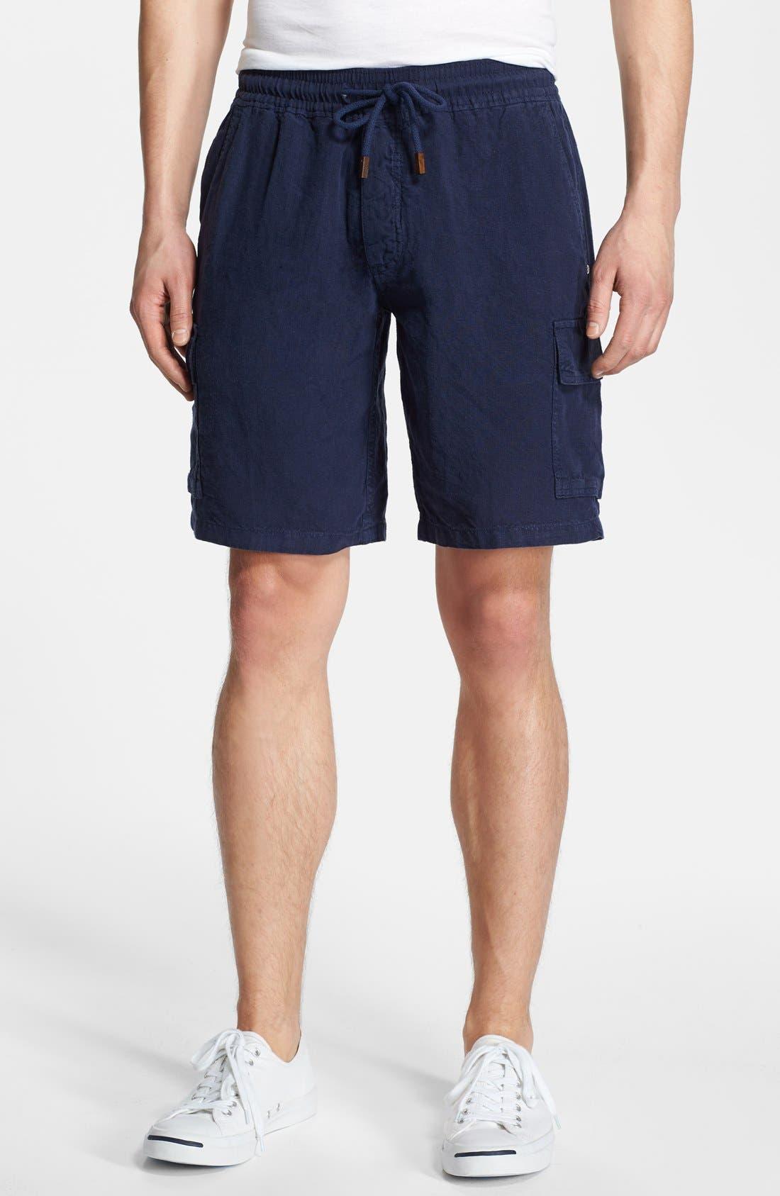 Vilebrequin Linen Bermuda Cargo Shorts