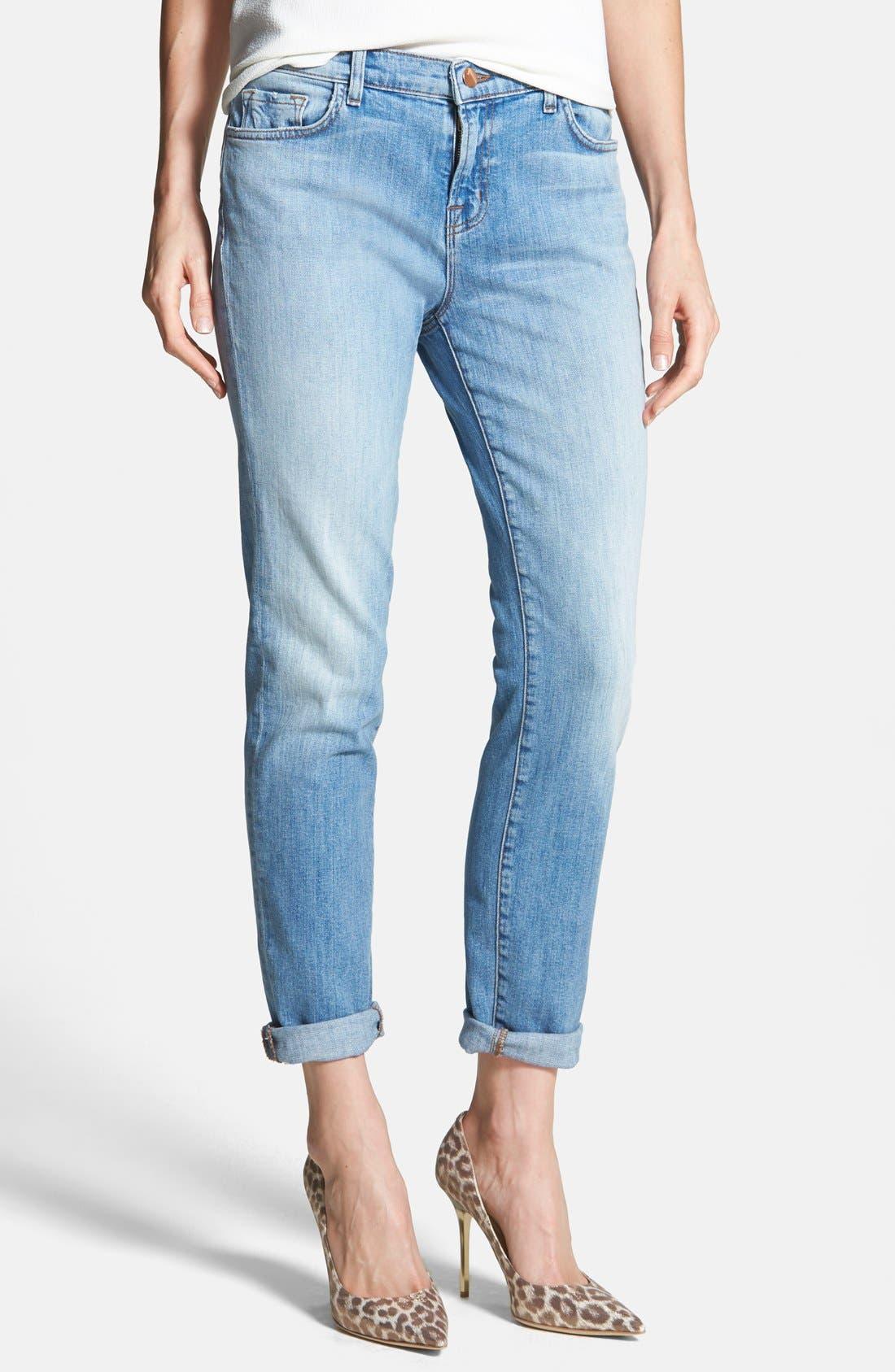 Main Image - J Brand 'Jake' Skinny Boyfriend Jeans (Eternal)