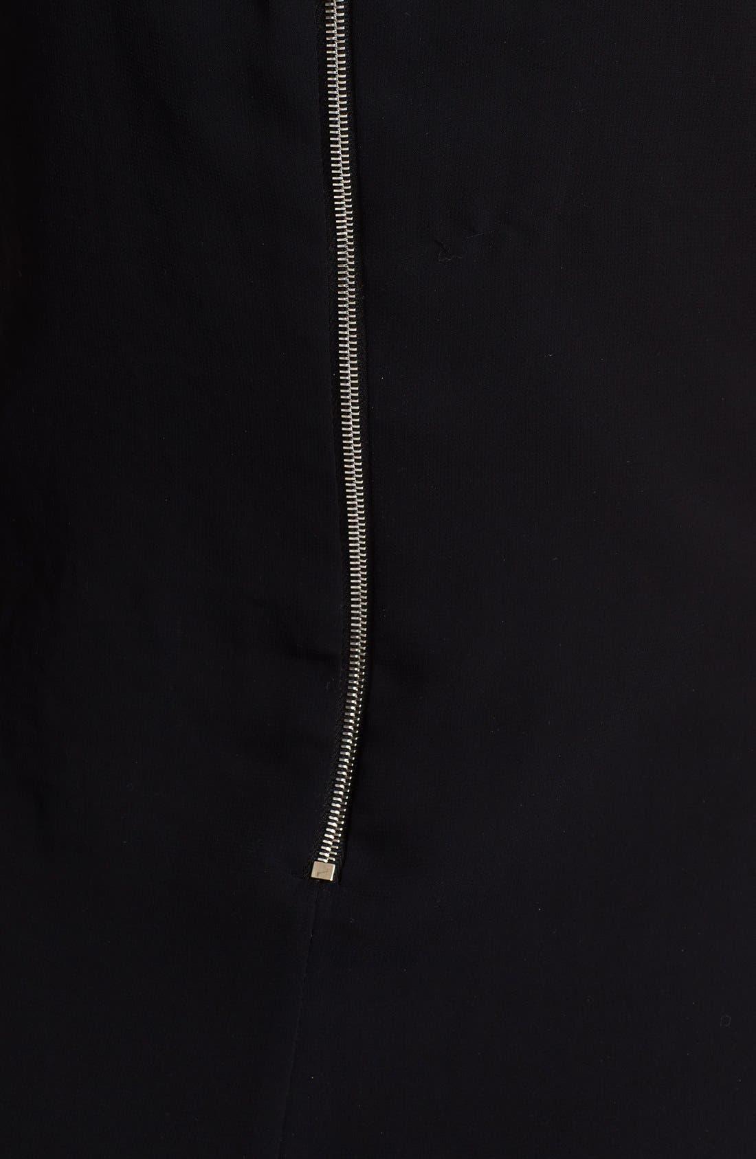 Alternate Image 3  - rag & bone 'Bailey' Chiffon High/Low Dress