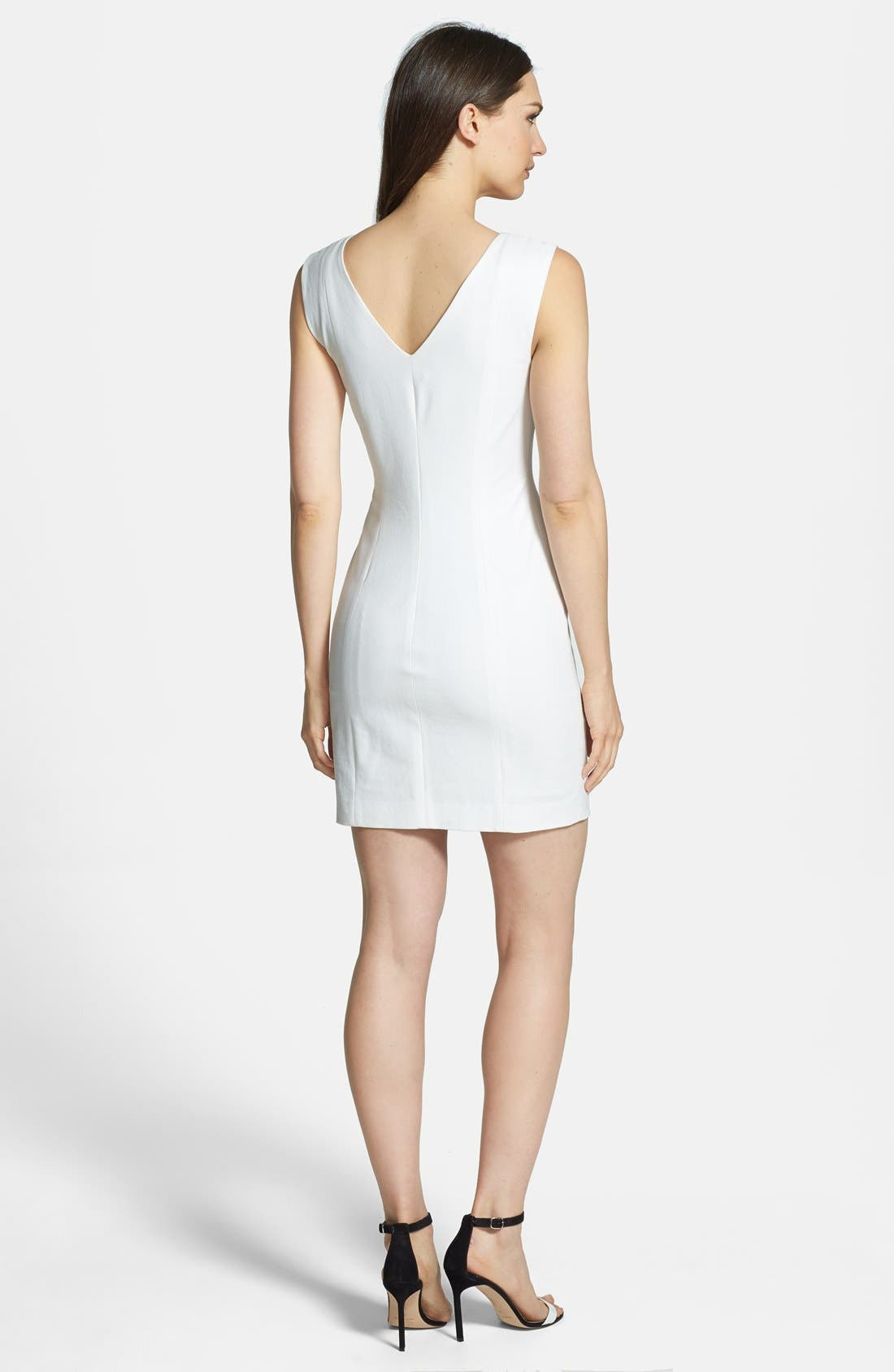 Alternate Image 2  - Theory 'Molana' Crepe Sheath Dress