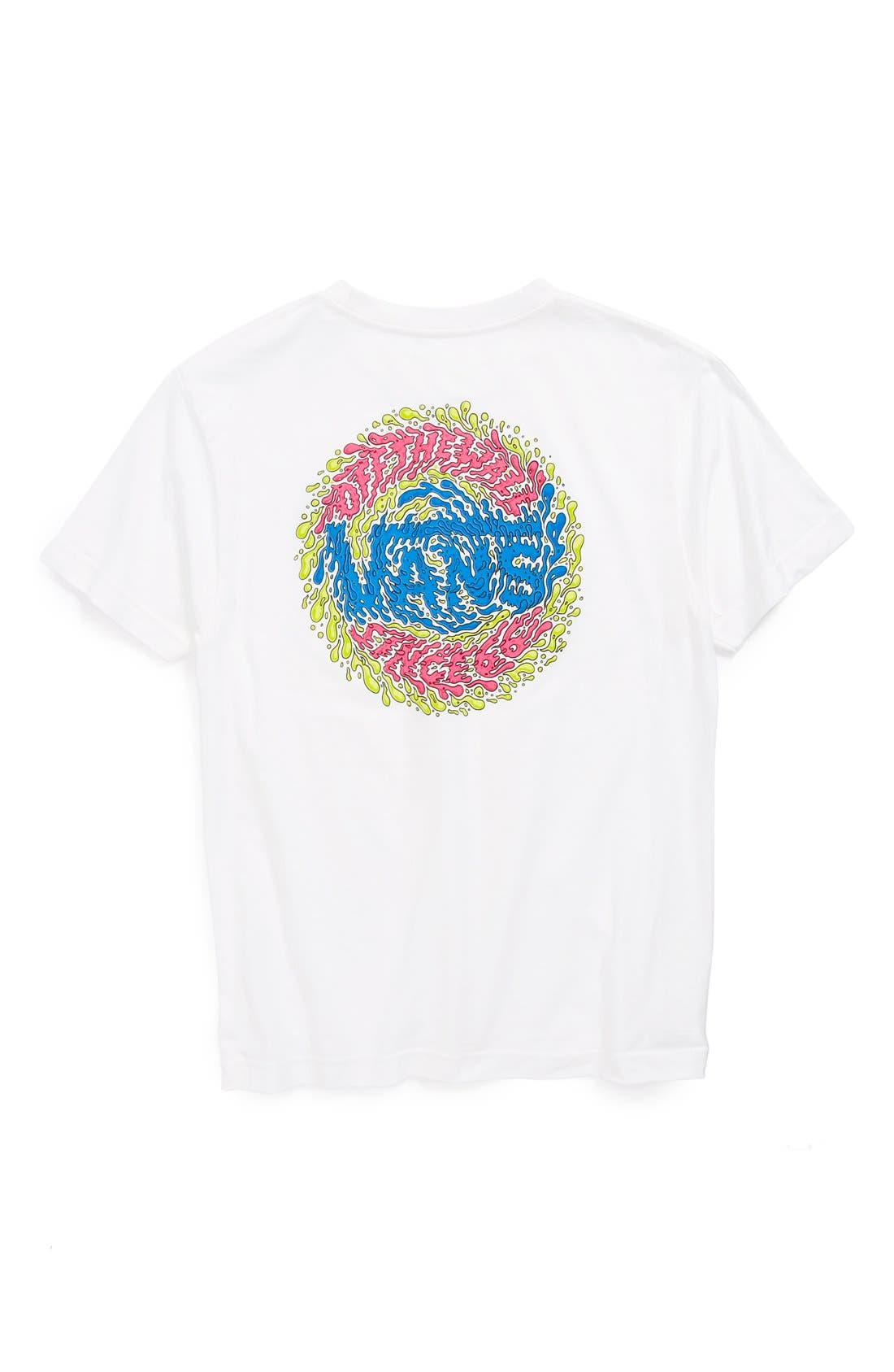 Alternate Image 2  - Vans 'Slimed' Graphic T-Shirt (Big Boys)