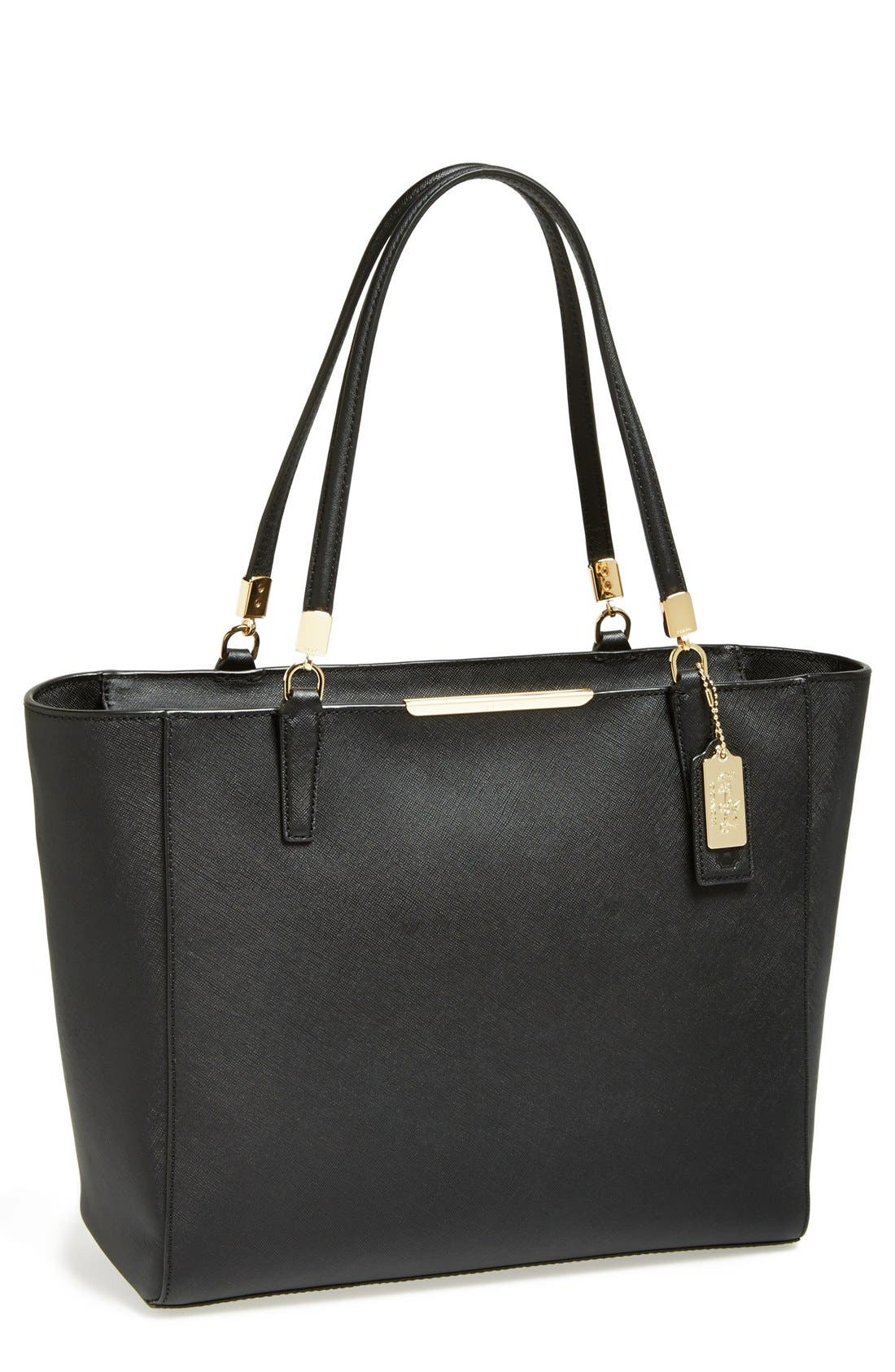 Main Image - COACH 'Madison' Saffiano Leather Tote