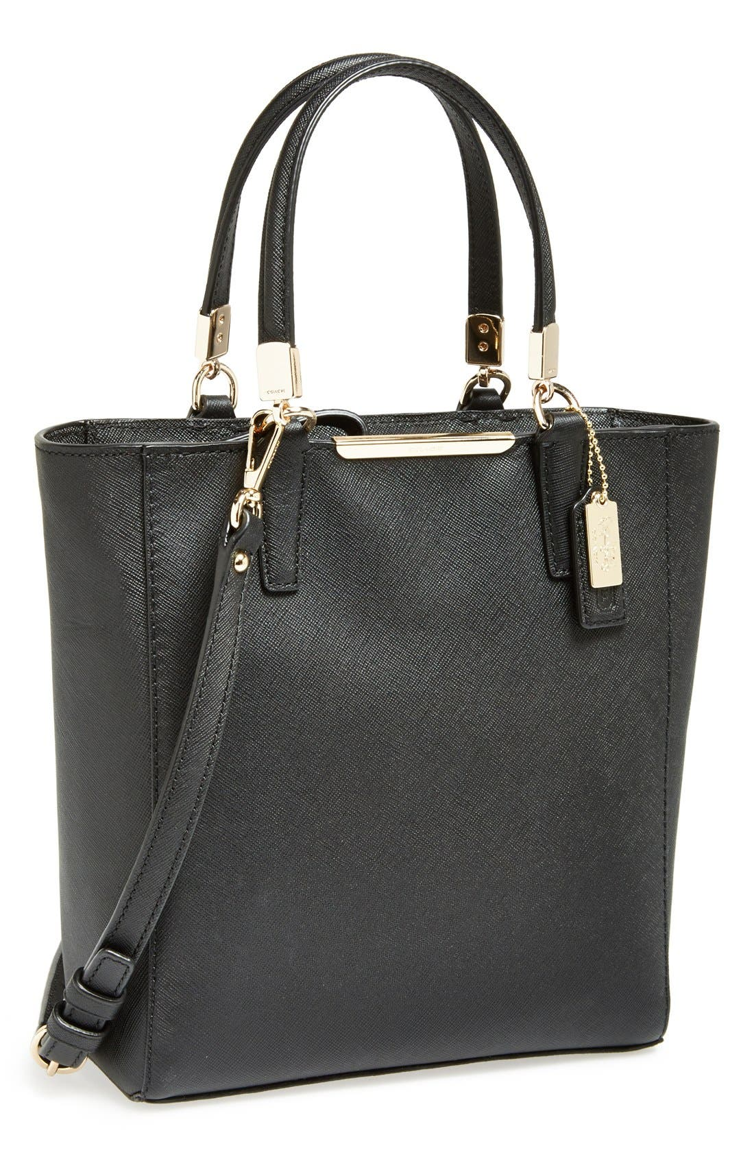 Main Image - COACH 'Madison' Saffiano Leather Tote