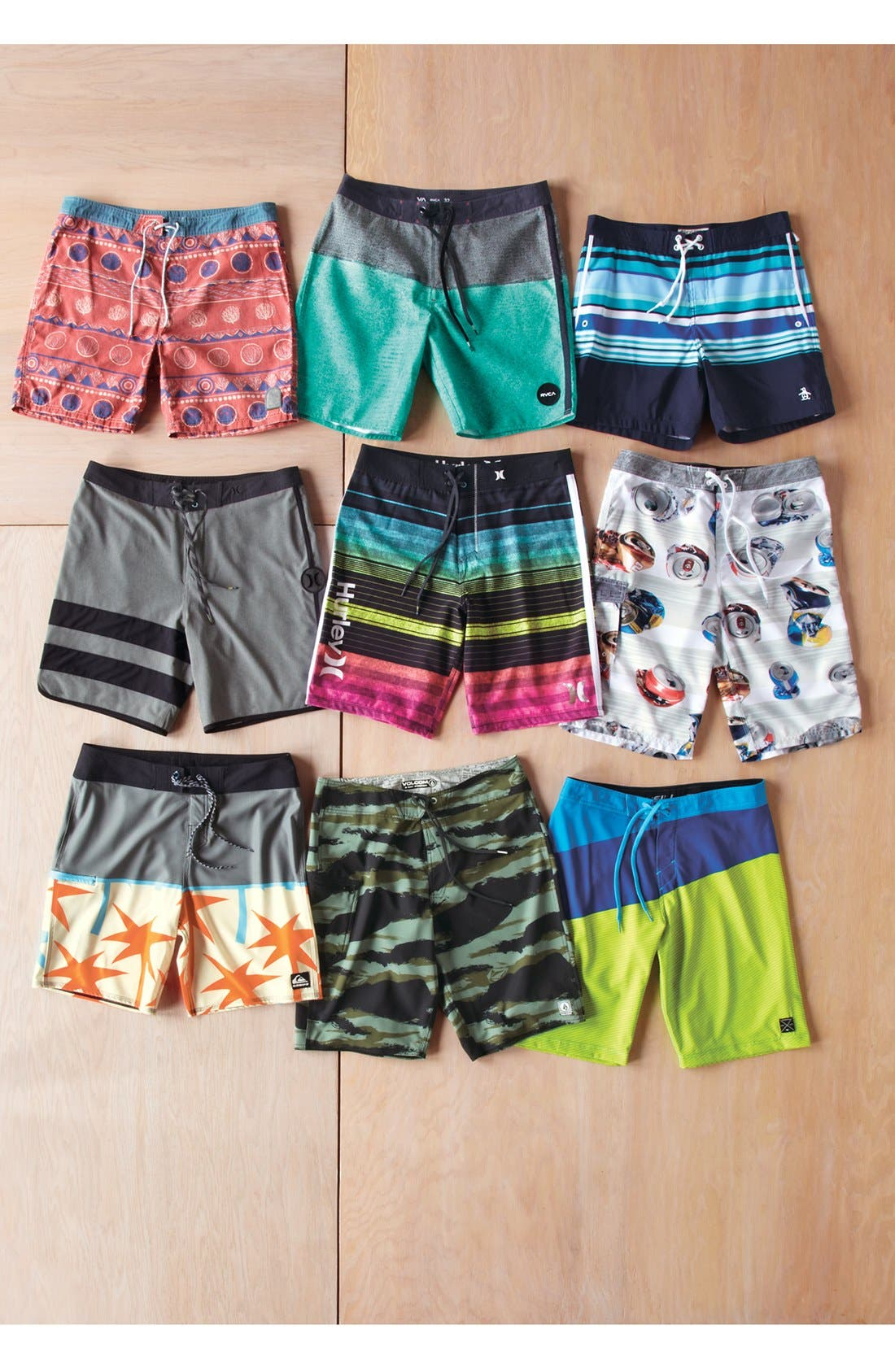 Alternate Image 4  - RVCA 'Buoy' Board Shorts
