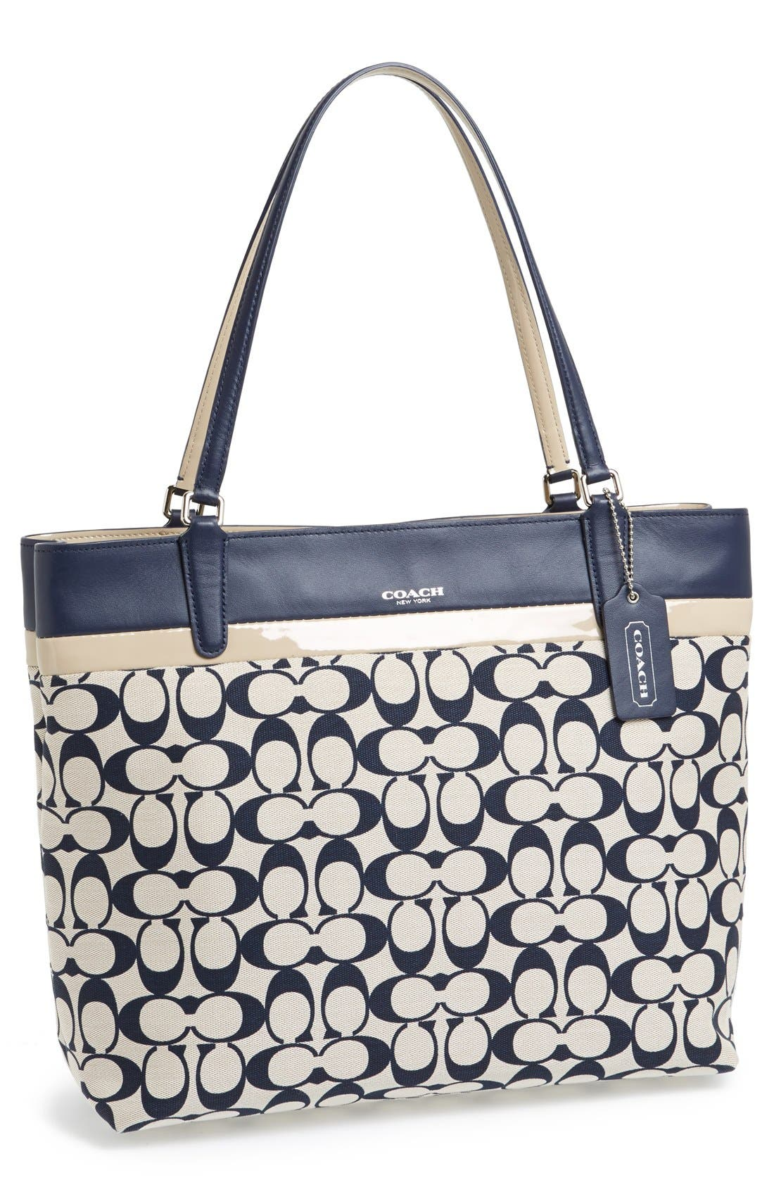 Alternate Image 1 Selected - COACH 'Small Signature' Tote