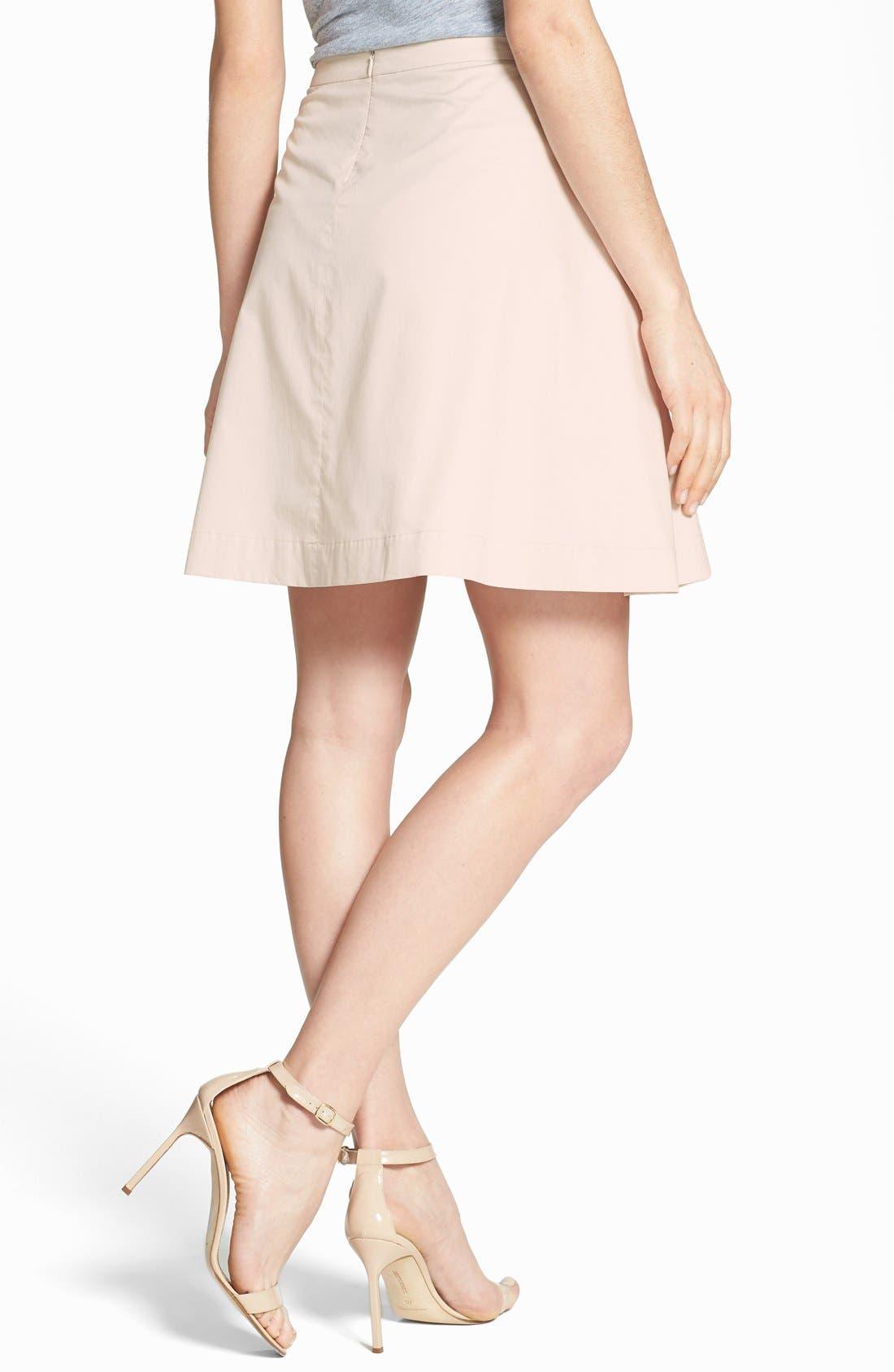 Alternate Image 2  - Theory 'Sarise' Pleat Full Skirt