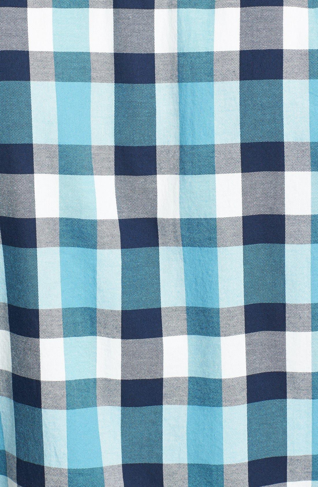 Alternate Image 3  - The North Face 'Gardello' Slim Fit Short Sleeve Check Sport Shirt