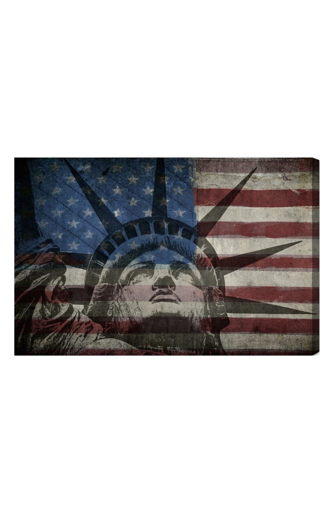 Main Image - Oliver Gal 'Statue of Liberty' Wall Art