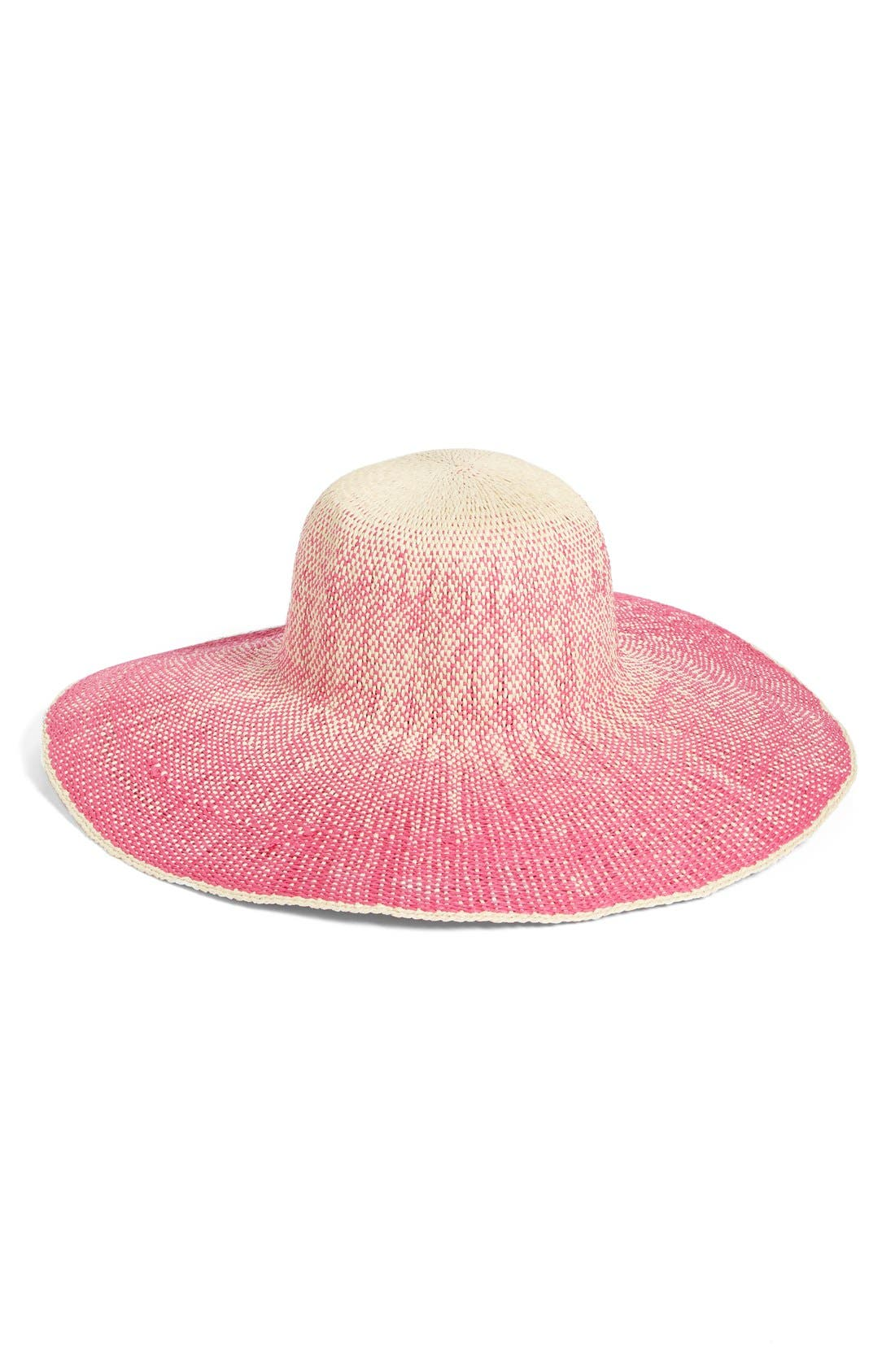 Alternate Image 2  - San Diego Hat Ombré Wide Brim Sun Hat