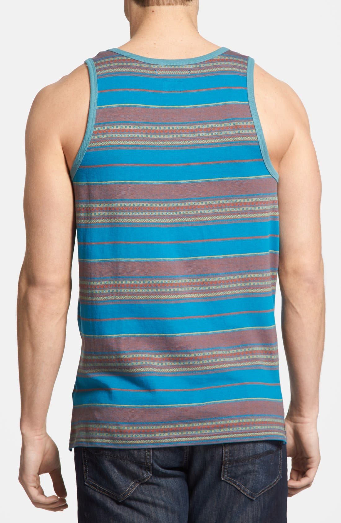 Alternate Image 2  - RVCA 'Canyon' Stripe Tank Top