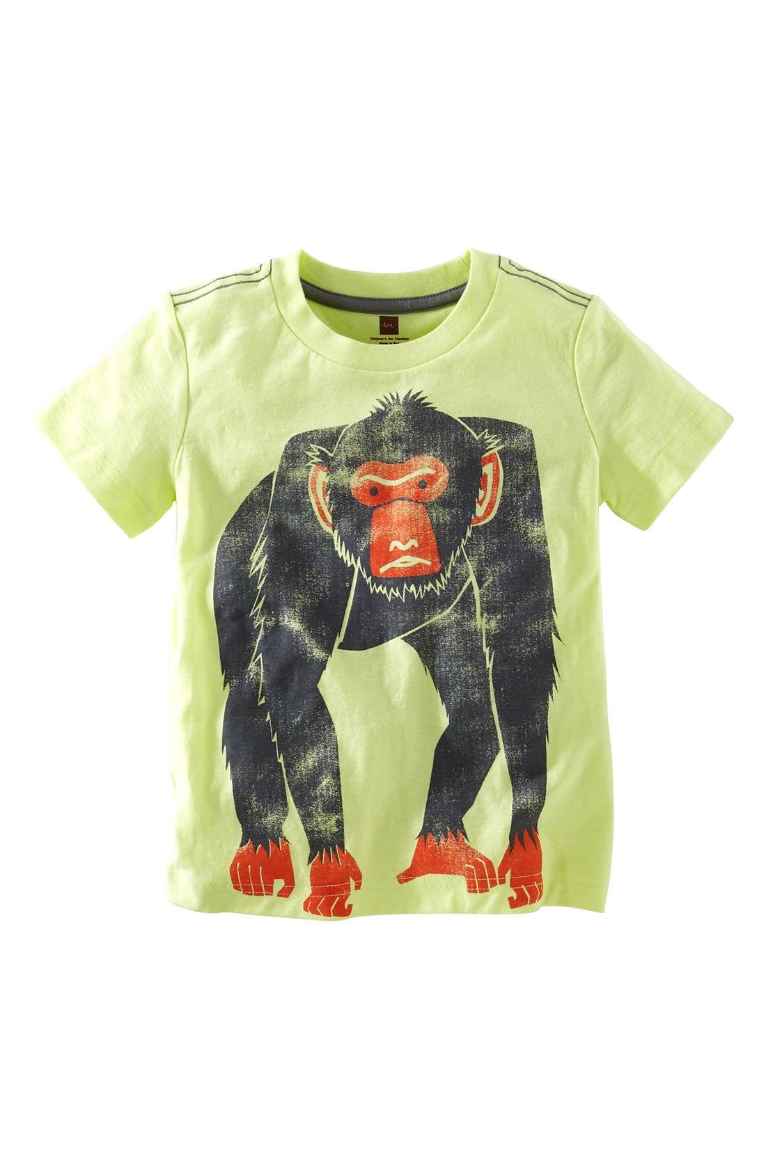 Alternate Image 1 Selected - Tea Collection 'Barbary Ape' Graphic T-Shirt (Little Boys & Big Boys)