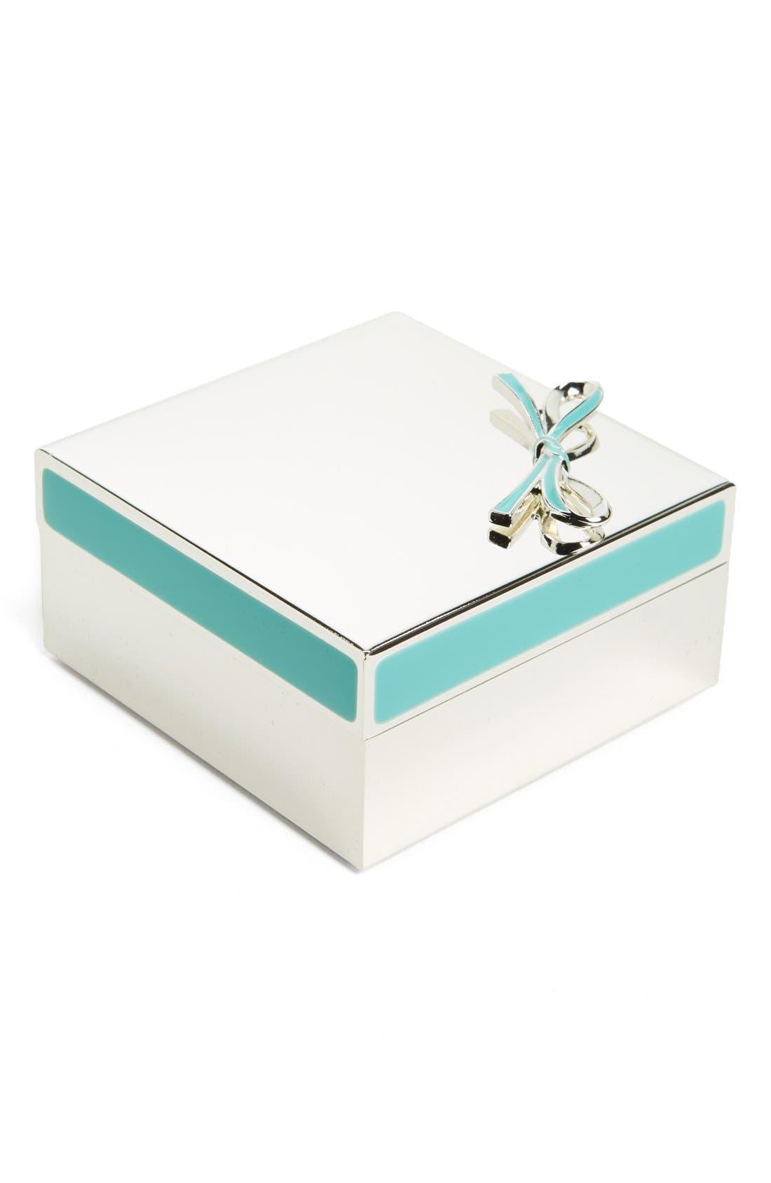 'vienna lane' keepsake box,                         Main,                         color, Turquoise