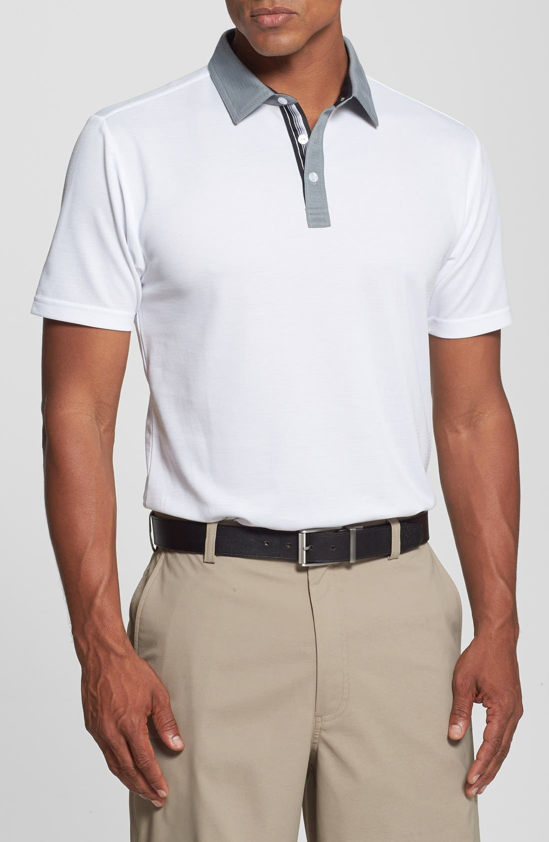 Alternate Image 1 Selected - Travis Mathew 'Collins' Trim Fit Performance Golf Polo