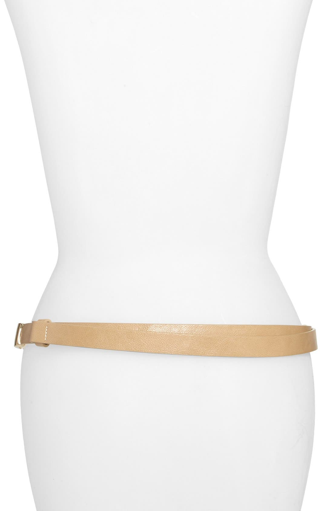 Alternate Image 2  - Steven by Steve Madden Square Plaque Chain Belt