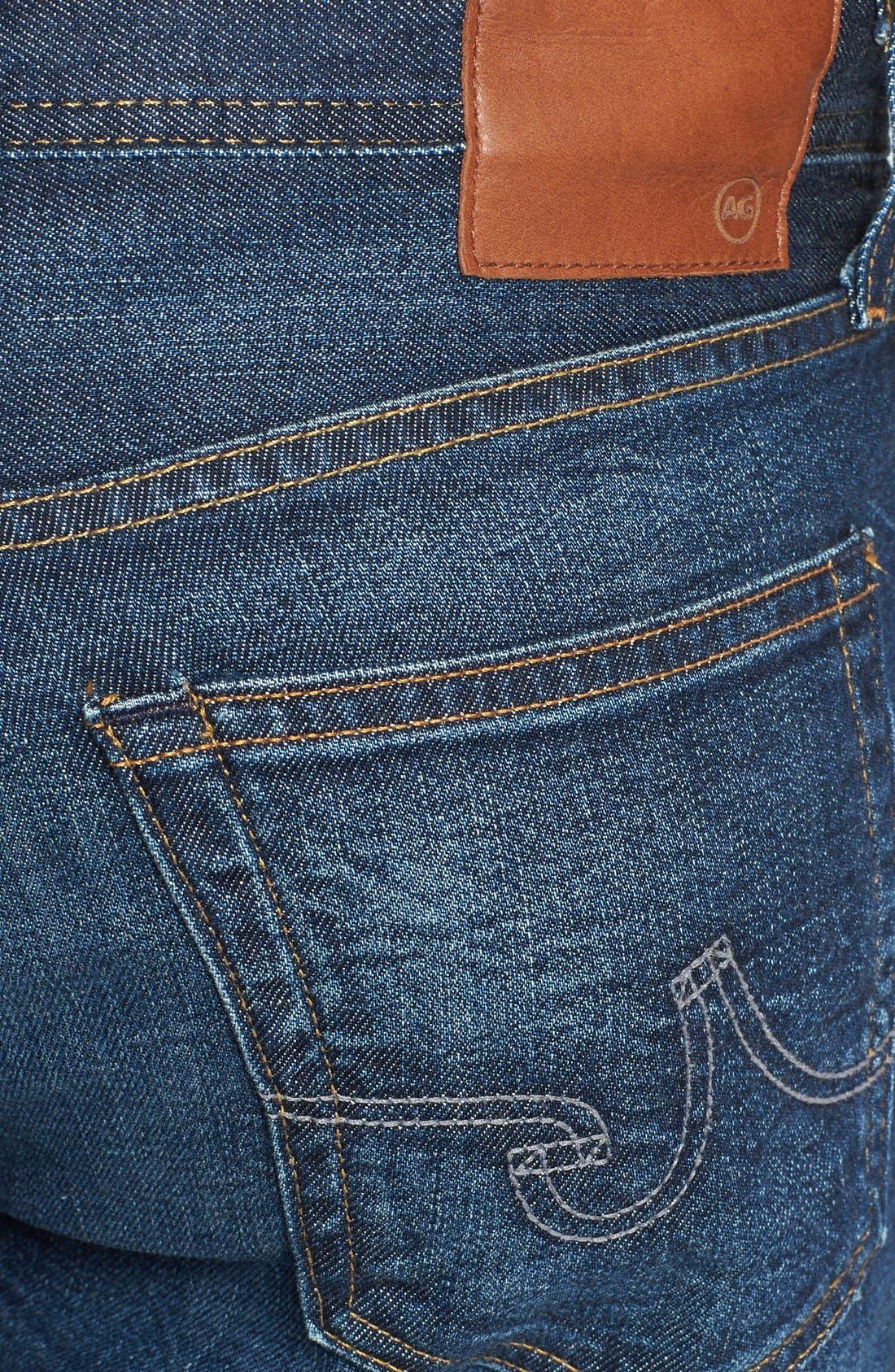 Alternate Image 4  - AG 'Protégé' Straight Leg Jeans (8 Year Gust)
