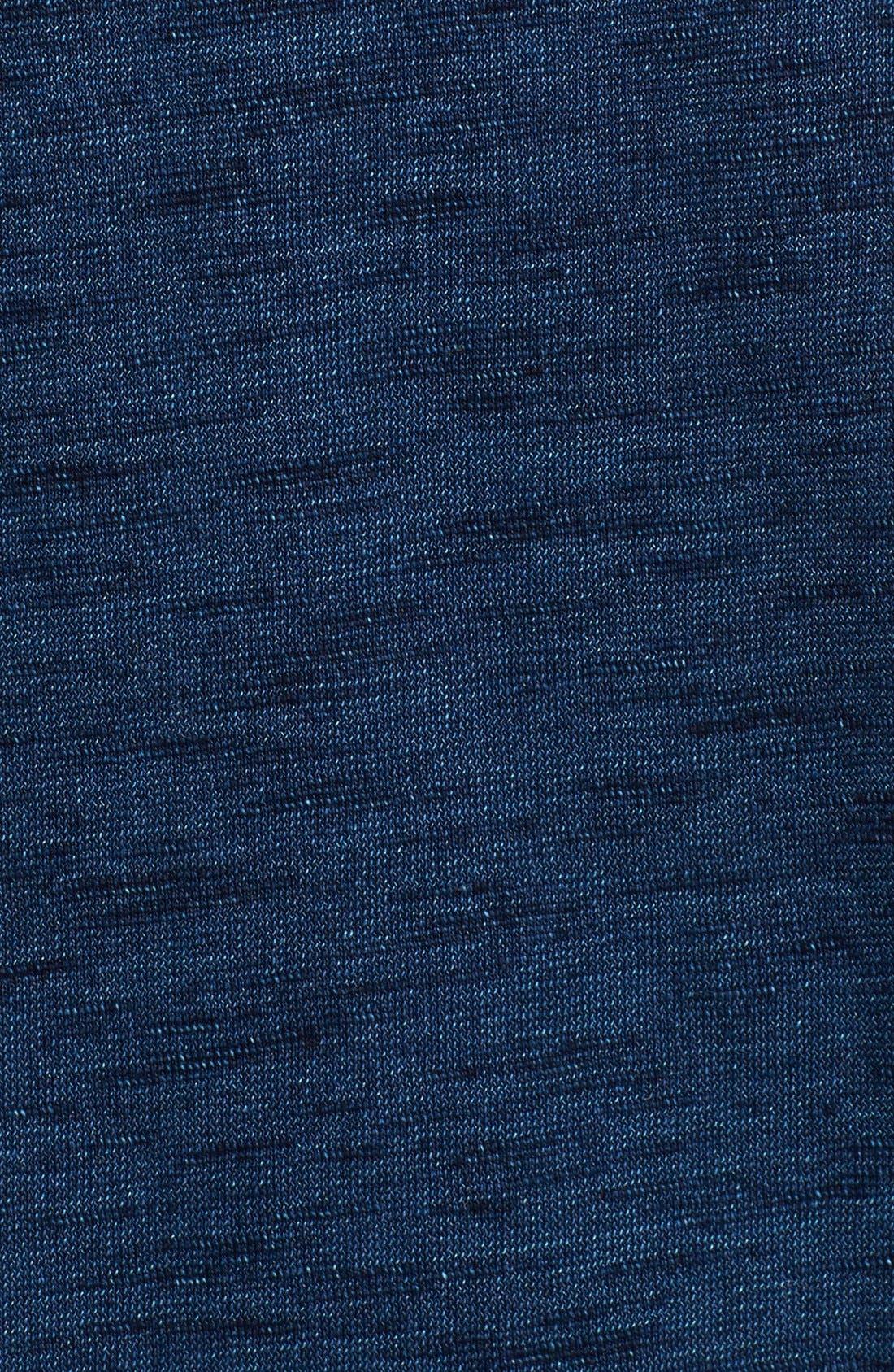 Alternate Image 3  - Splendid Roll Sleeve Cotton Muscle Tee