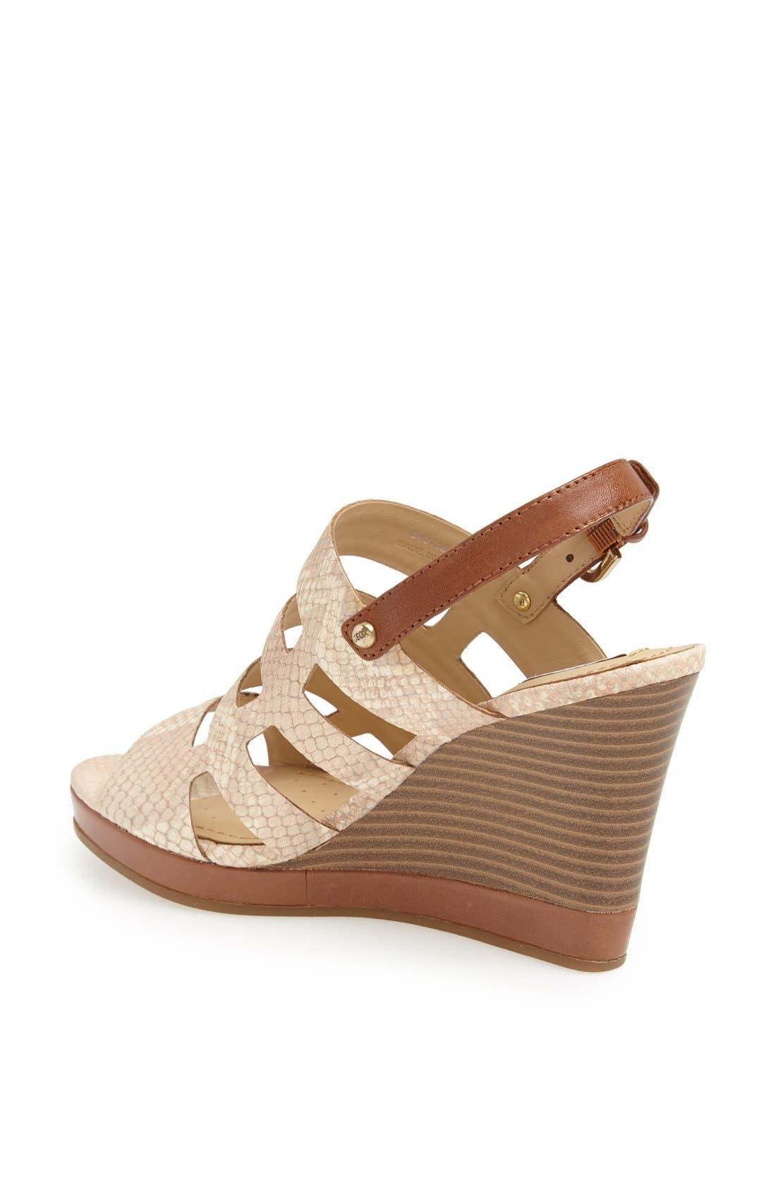 Alternate Image 2  - Geox 'Sibilla' Wedge Sandal