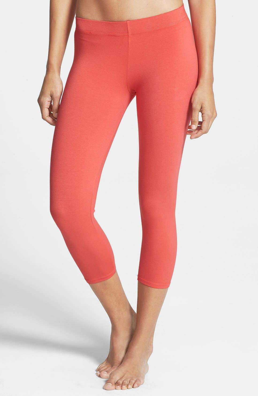 Alternate Image 1 Selected - Solow Crop Leggings