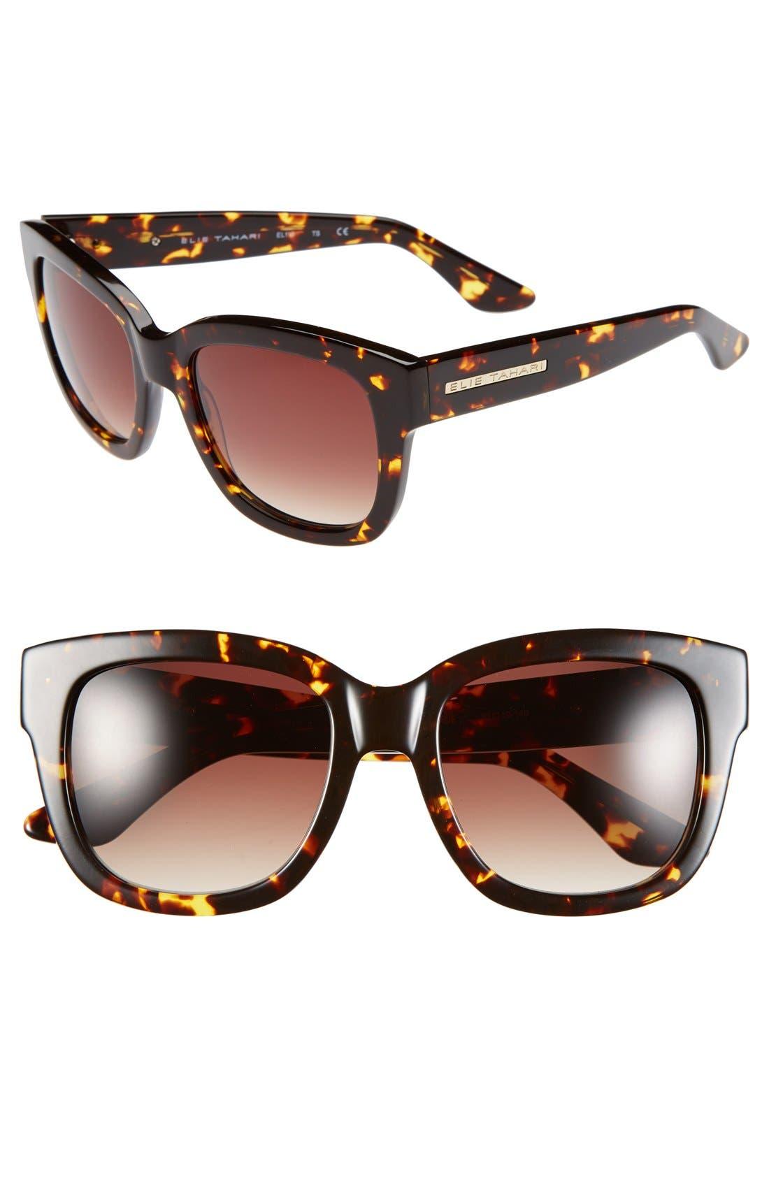 Alternate Image 1 Selected - Elie Tahari 53mm Retro Sunglasses