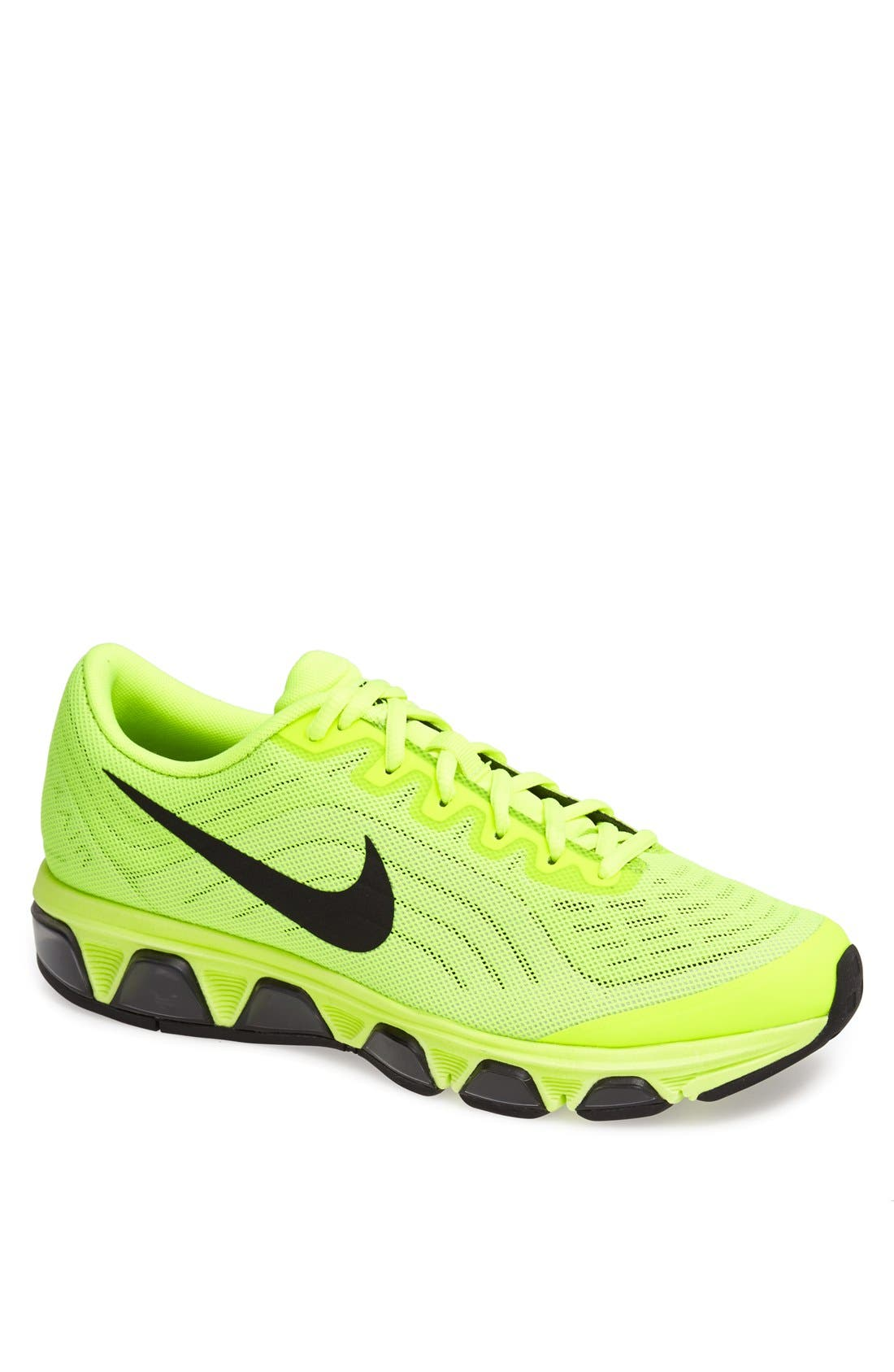 'Air Max Tailwind 6' Running Shoe,                             Main thumbnail 1, color,                             Volt/ Black/ Barely Volt