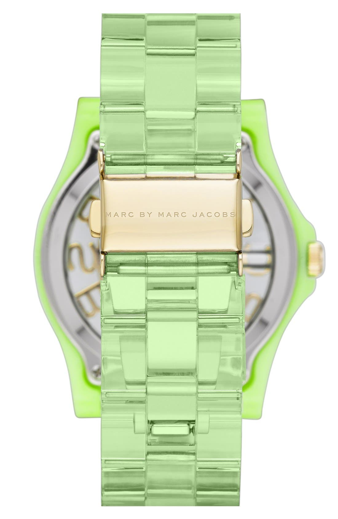 Alternate Image 2  - MARC JACOBS 'Henry Skeleton' Bracelet Watch, 41mm