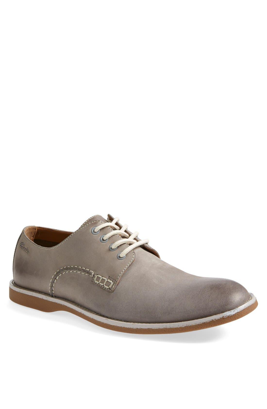 Main Image - Clarks® 'Farli Walk' Plain Toe Derby   (Men)