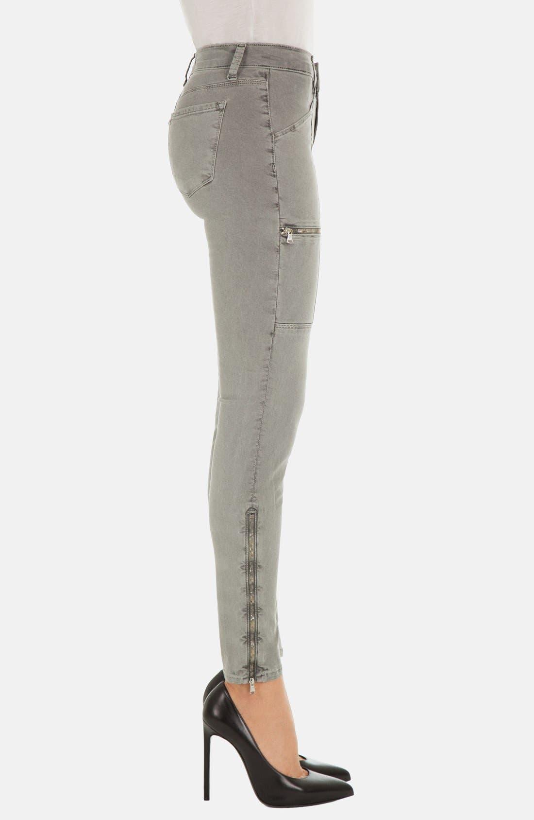 Alternate Image 3  - J Brand 'Kassidy' Skinny Jeans (Vintage Olive)