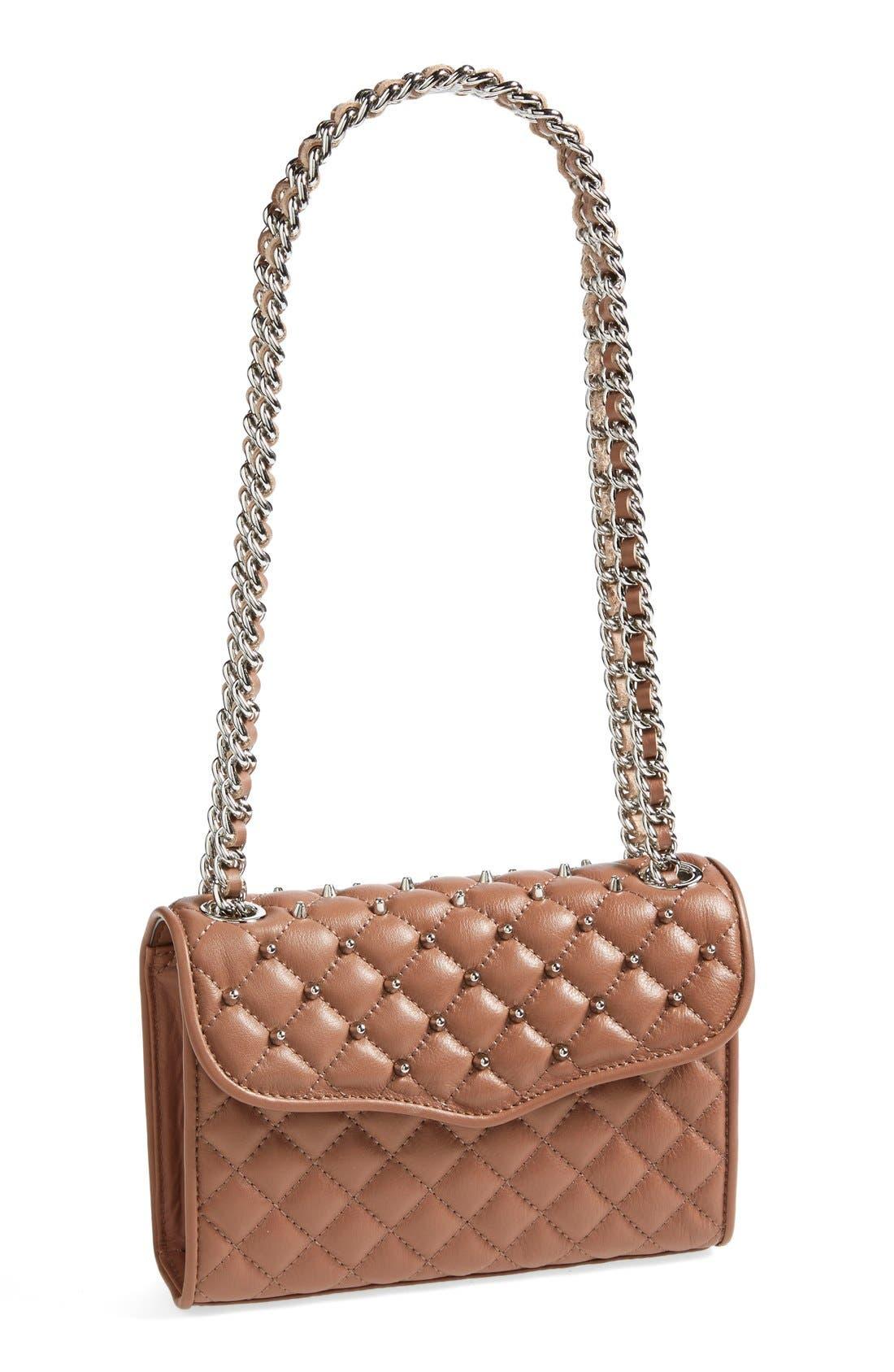 Alternate Image 1 Selected - Rebecca Minkoff 'Mini Affair with Studs' Convertible Crossbody Bag