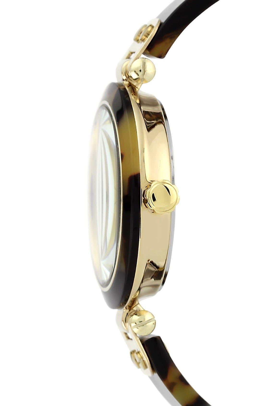 Alternate Image 3  - Anne Klein Round Skinny Bangle Watch, 33mm