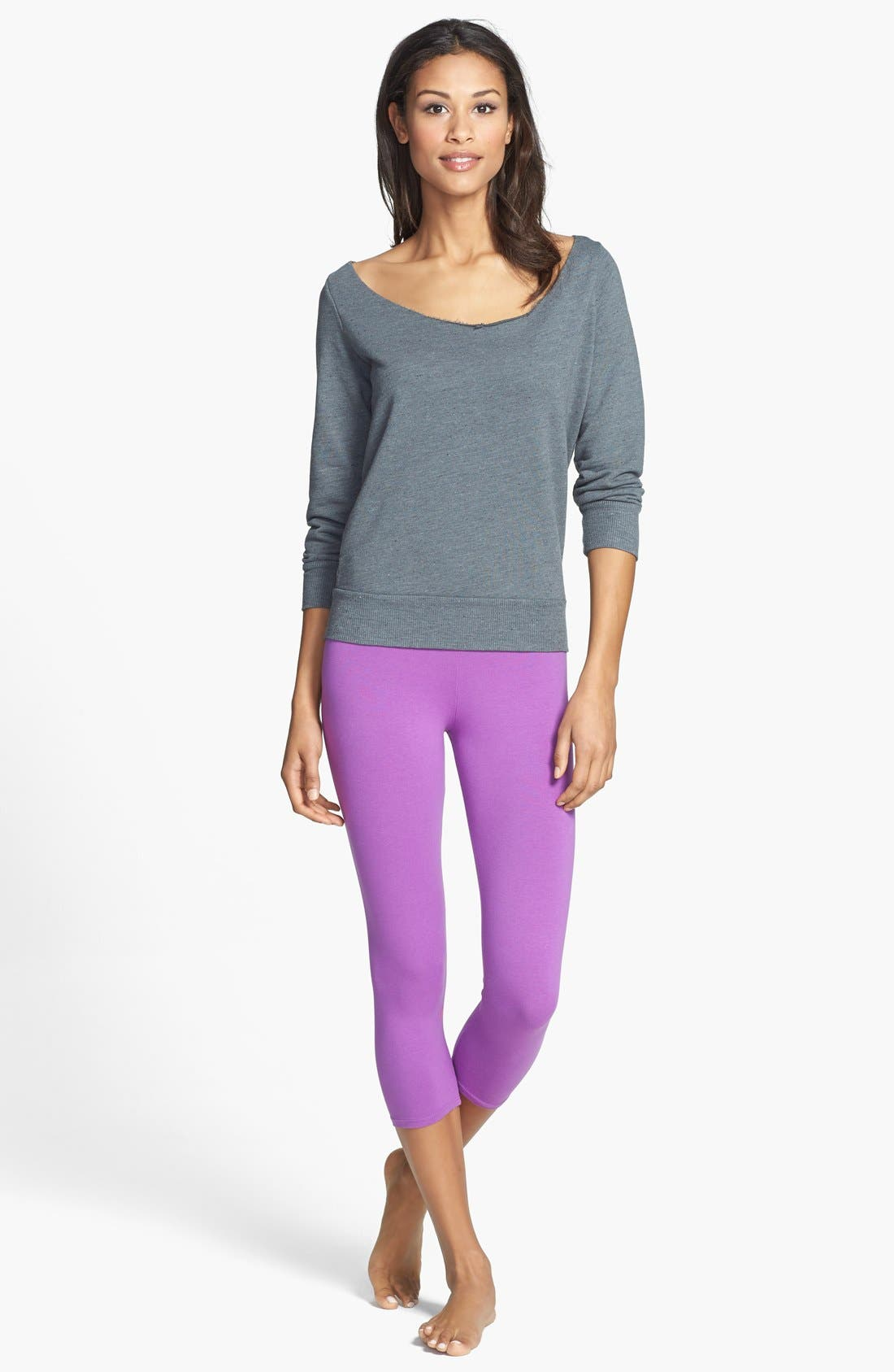 Alternate Image 3  - Solow Twist Back Sweatshirt