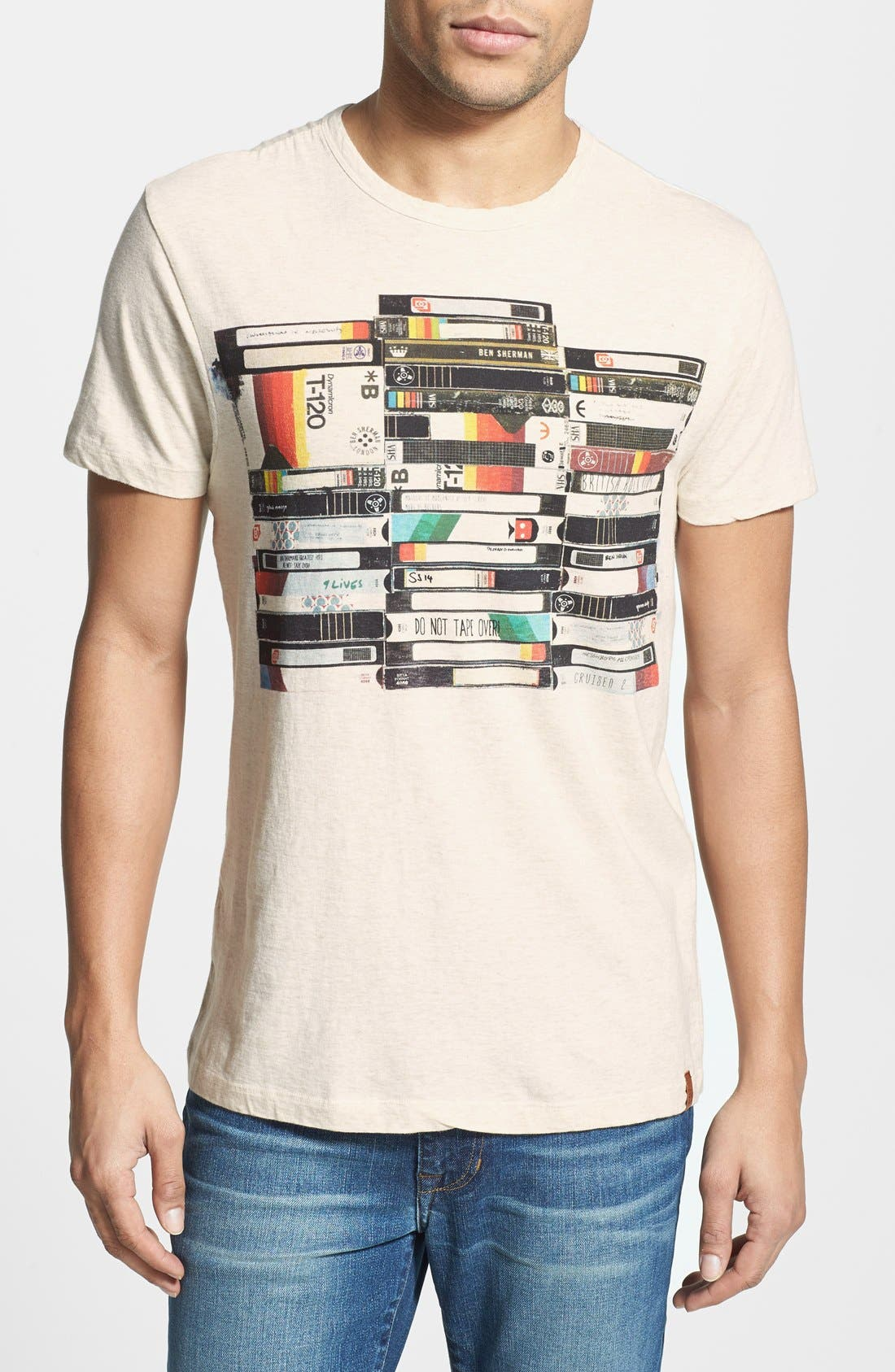 Alternate Image 1 Selected - Ben Sherman 'VHS' Graphic T-Shirt